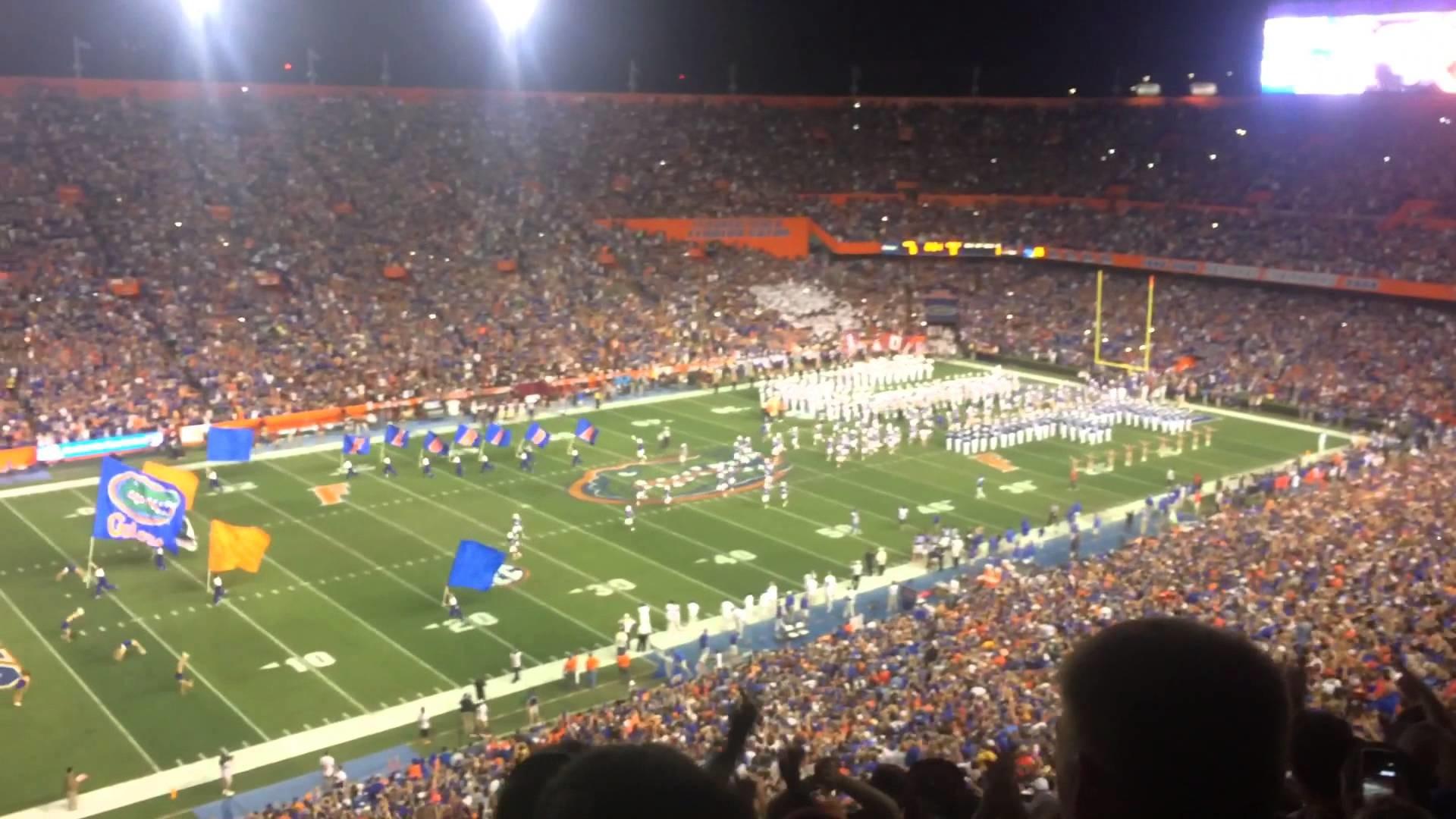Florida Gators vs Florida state seminoles – 11/28/2015 – Team Entrances –  Ben Hill Griffin Stadium