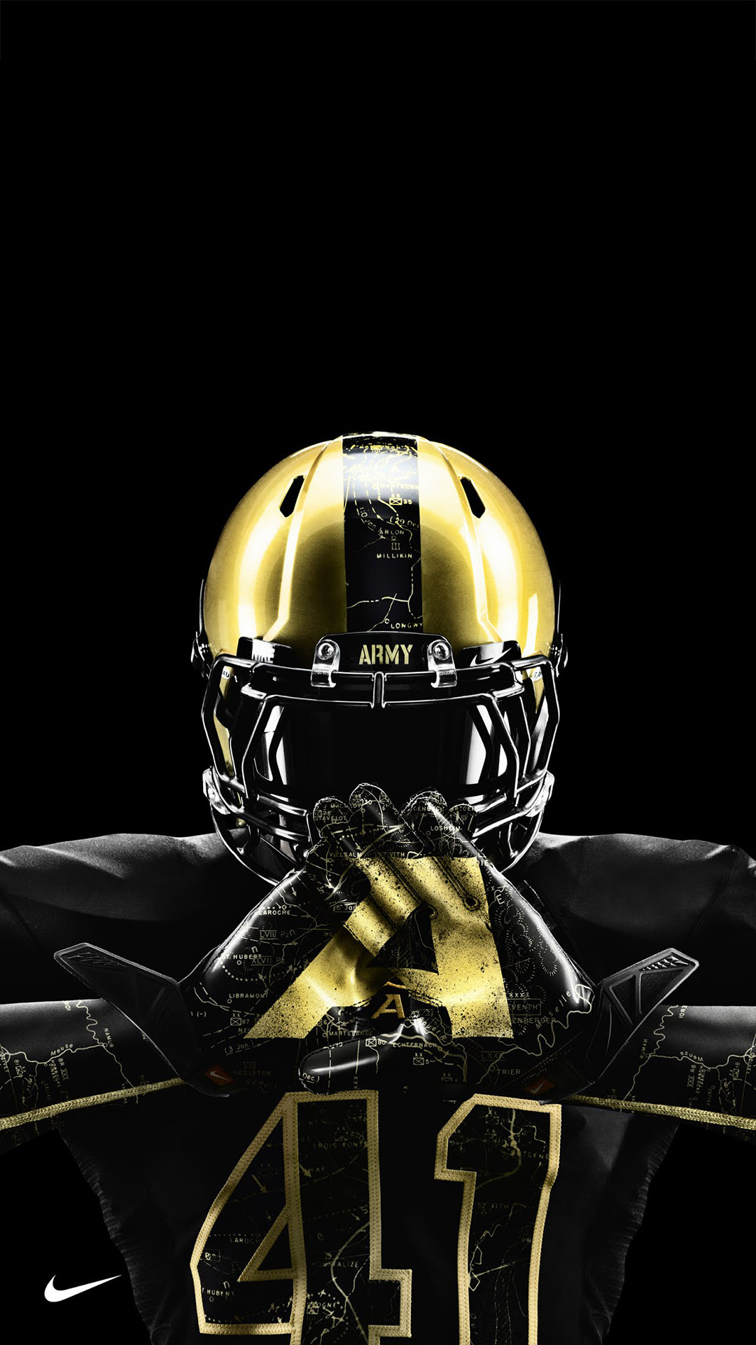 Army nike gloves htc one wallpaper American Football Team Player American  Football Team Player Ohio State …