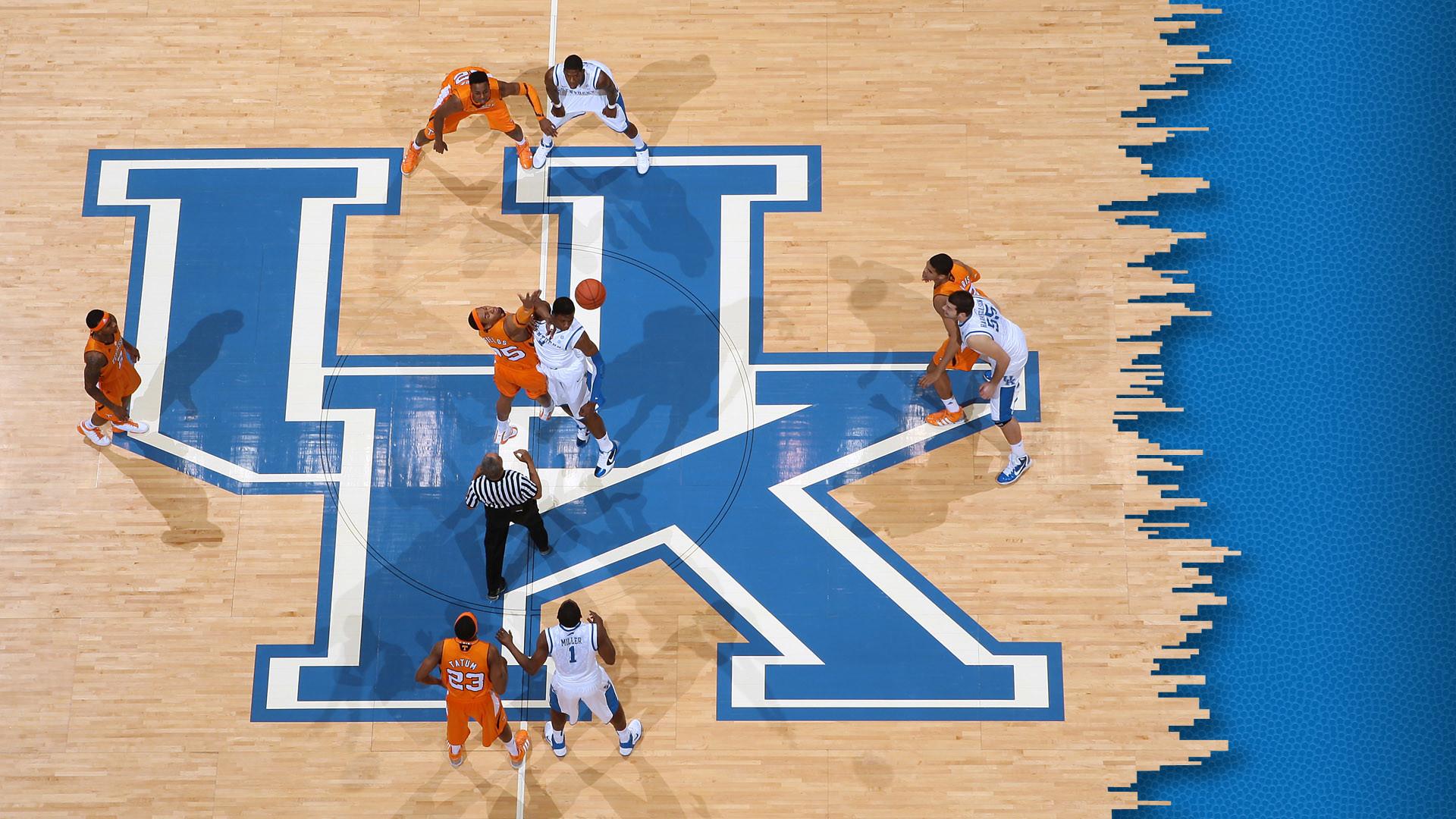 Aerial Kentucky Men's Basketball Desktop Wallpaper