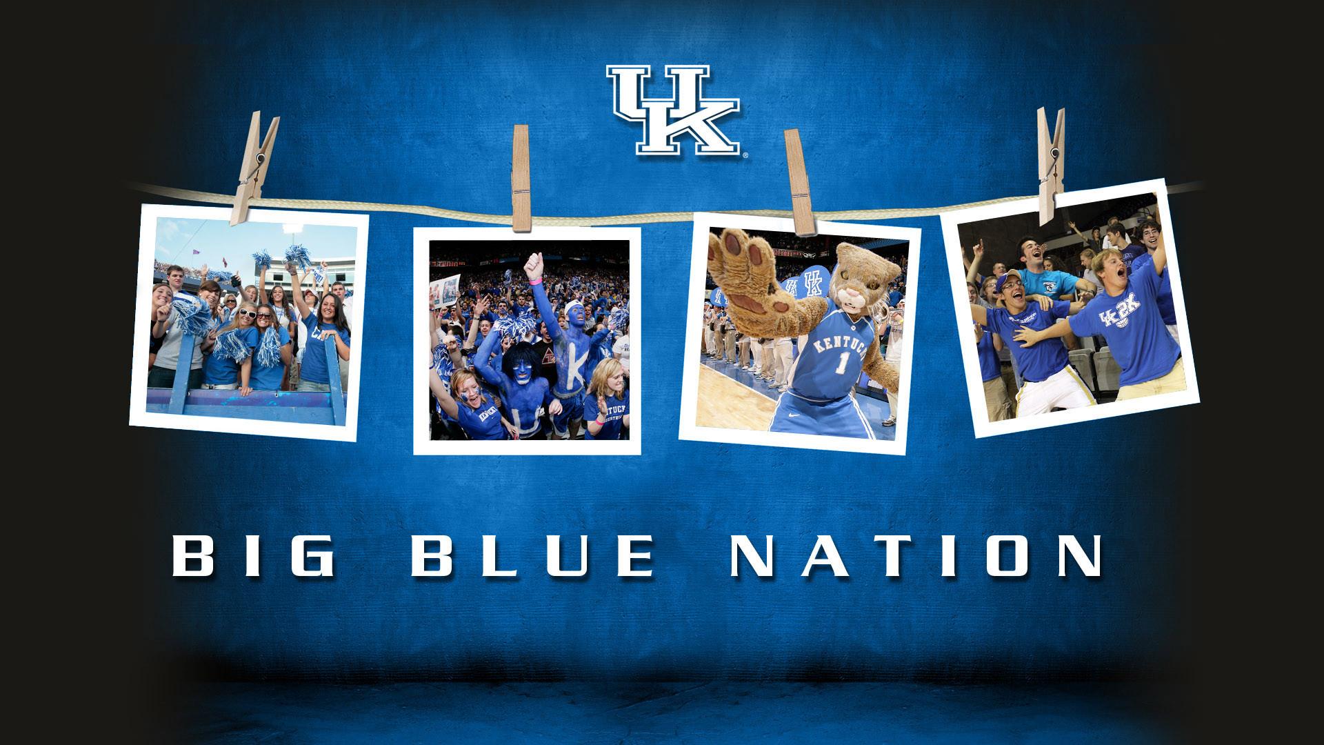 Big Blue Nation Fans Desktop Wallpaper