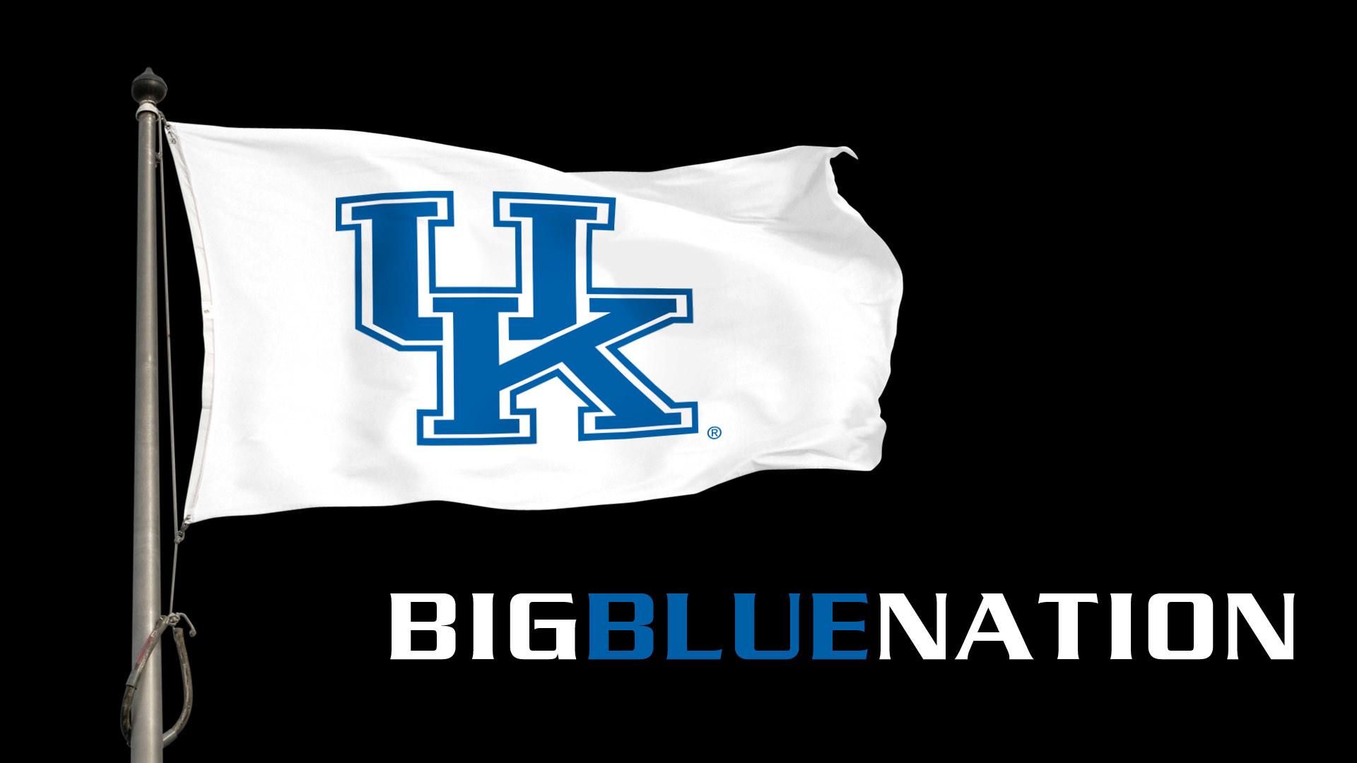 Big Blue Nation Flag Desktop Wallpaper