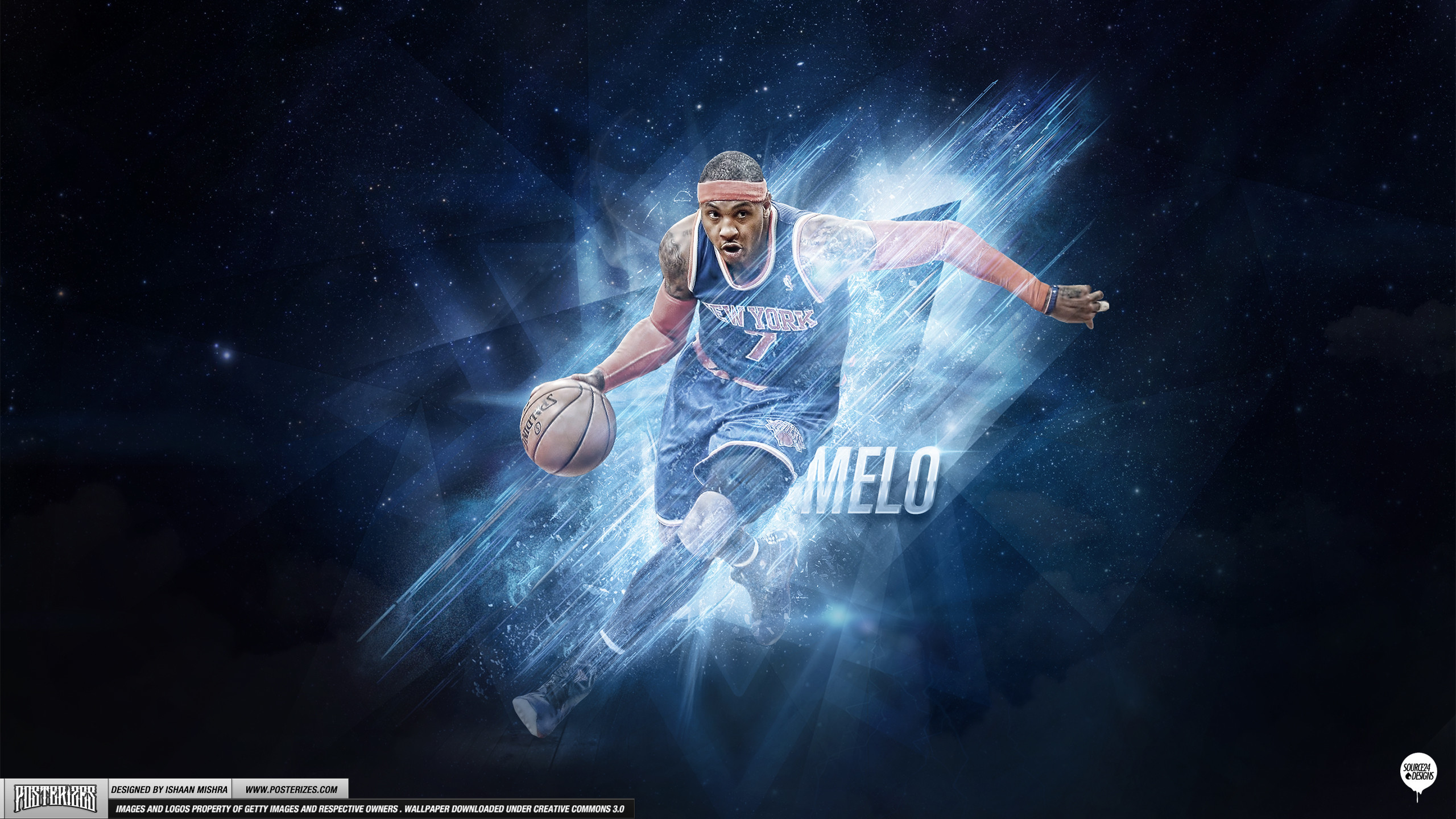 Carmelo Anthony – 'Playoff Push' (WALLPAPER)