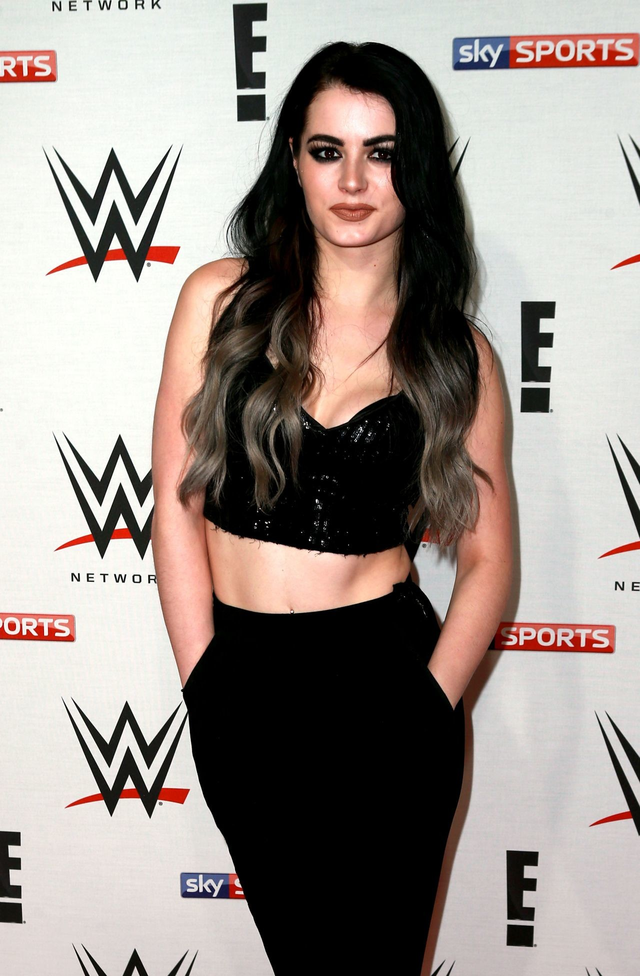 Paige – WWE Preshow Party at the O2 Arena in London 4/18/2016