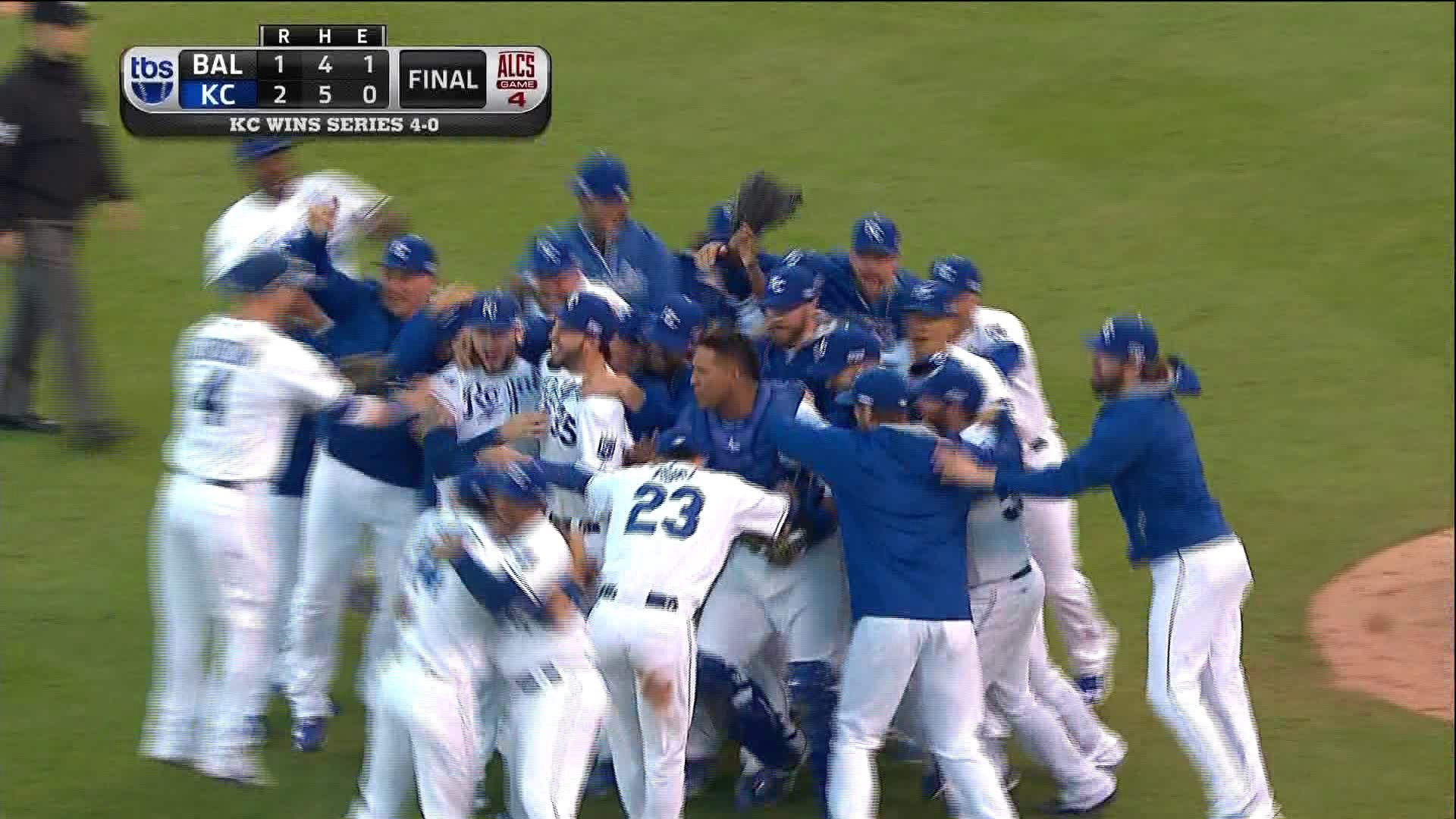 Kansas City Royals Advance to World Series with Sweep of Baltimore .