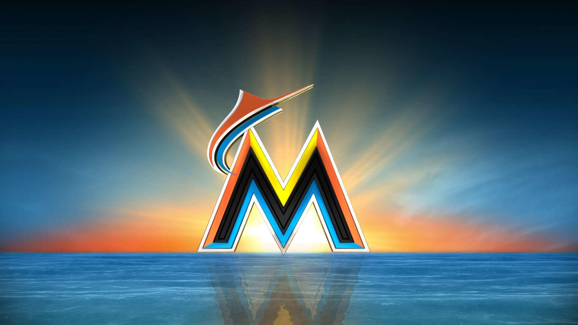 Download now: Miami Marlins Logo HD Wallpaper. Read description info's .