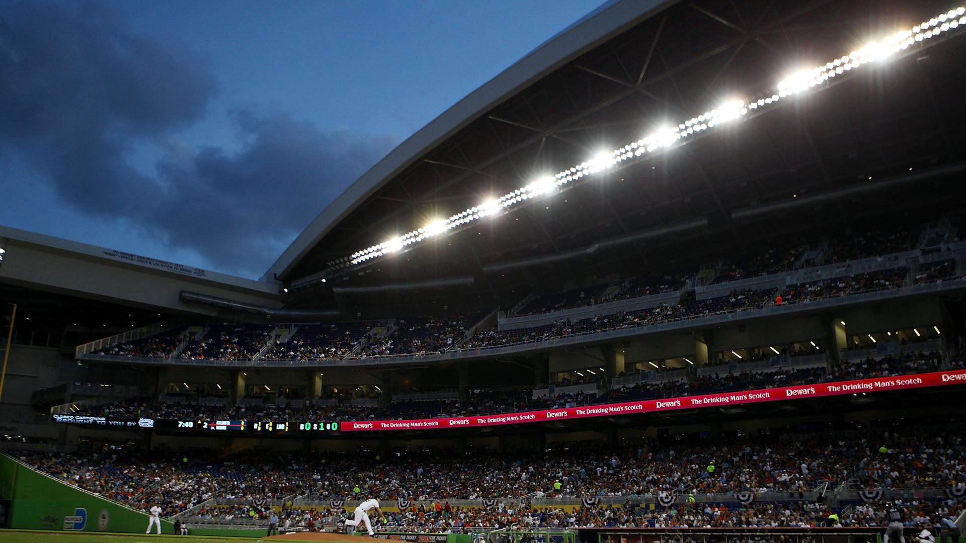 Baseball, Stadium, Miami Marlins Baseball Stadium, Sports, Mlb, Miami  Marlins