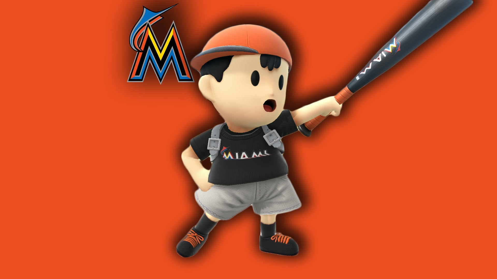 Miami Marlins Ness (with Bat) …