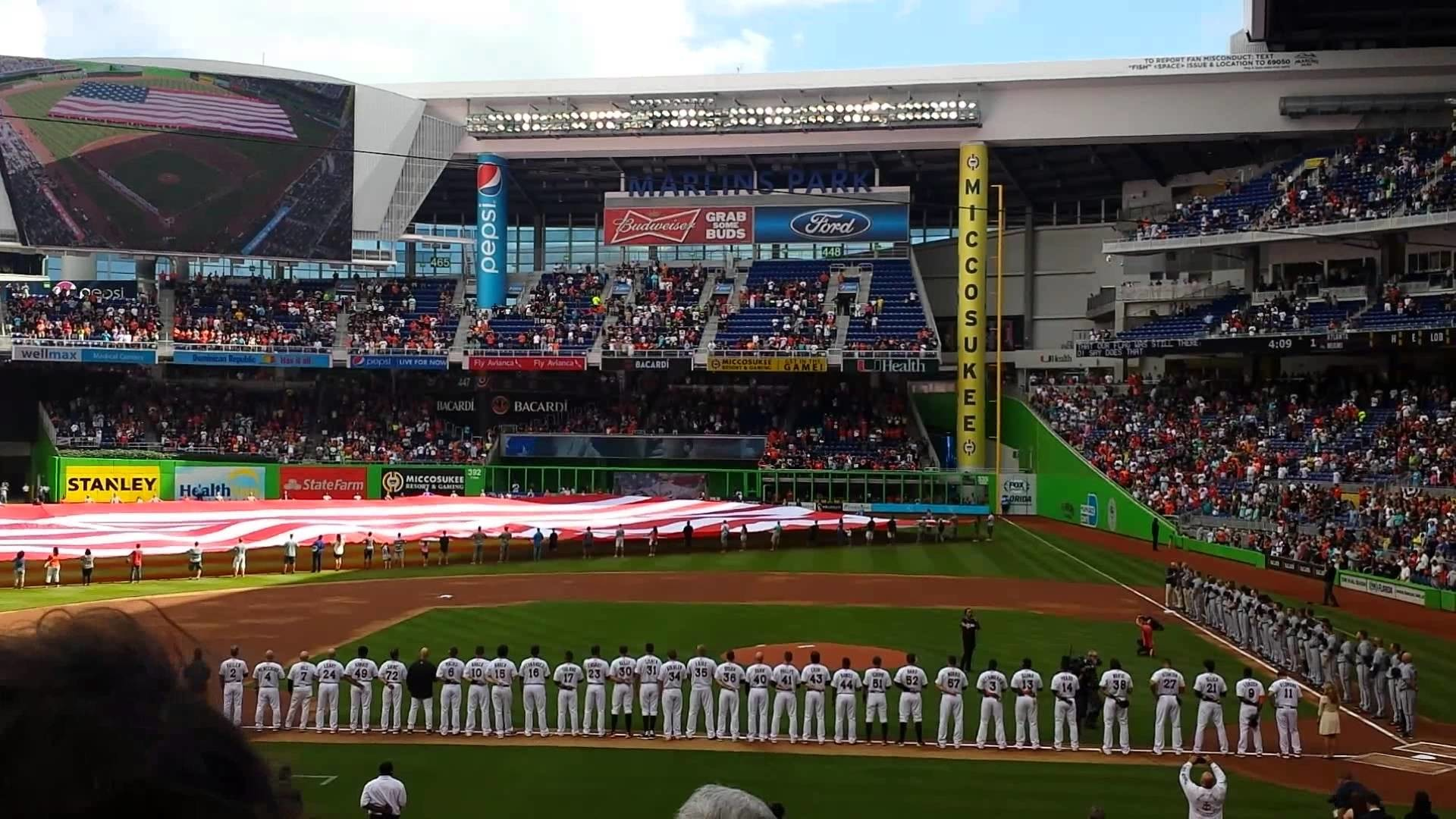 Miami marlins opening day 2015