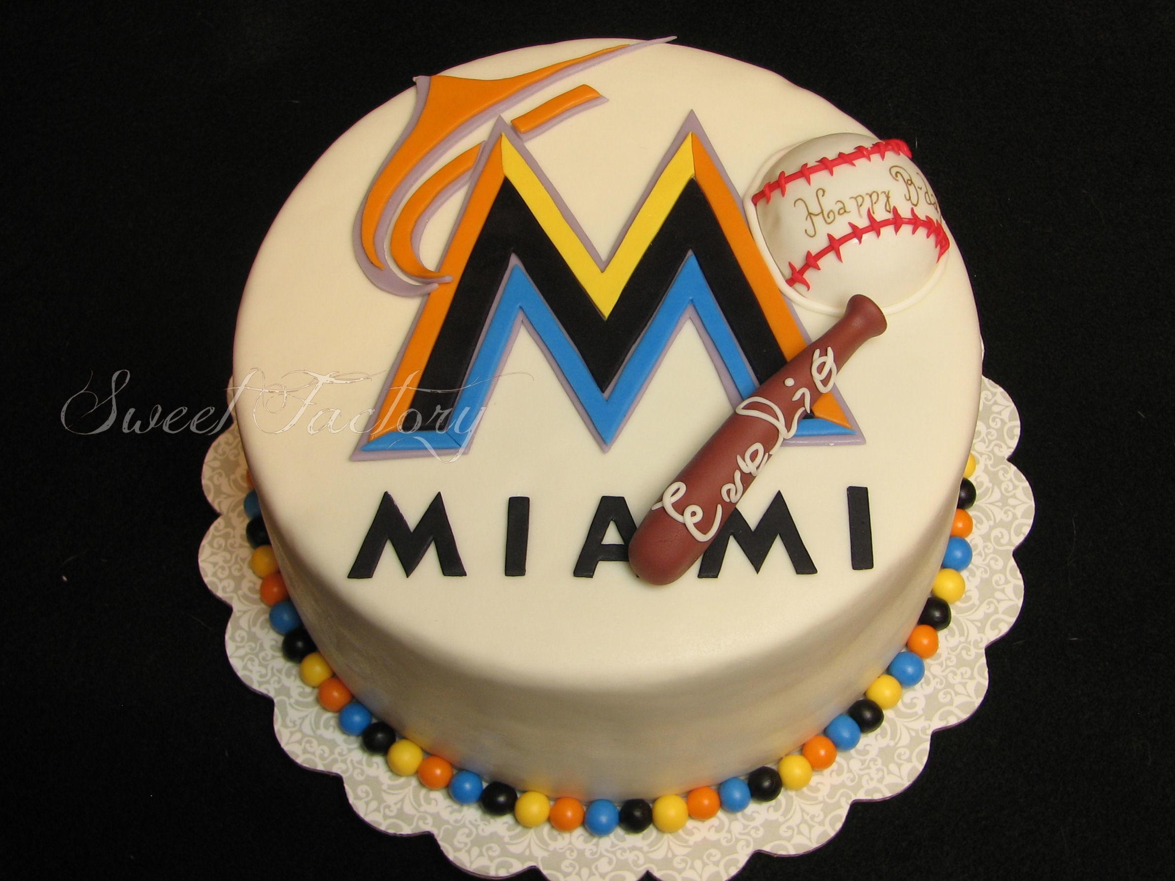 Miami Marlins Cake