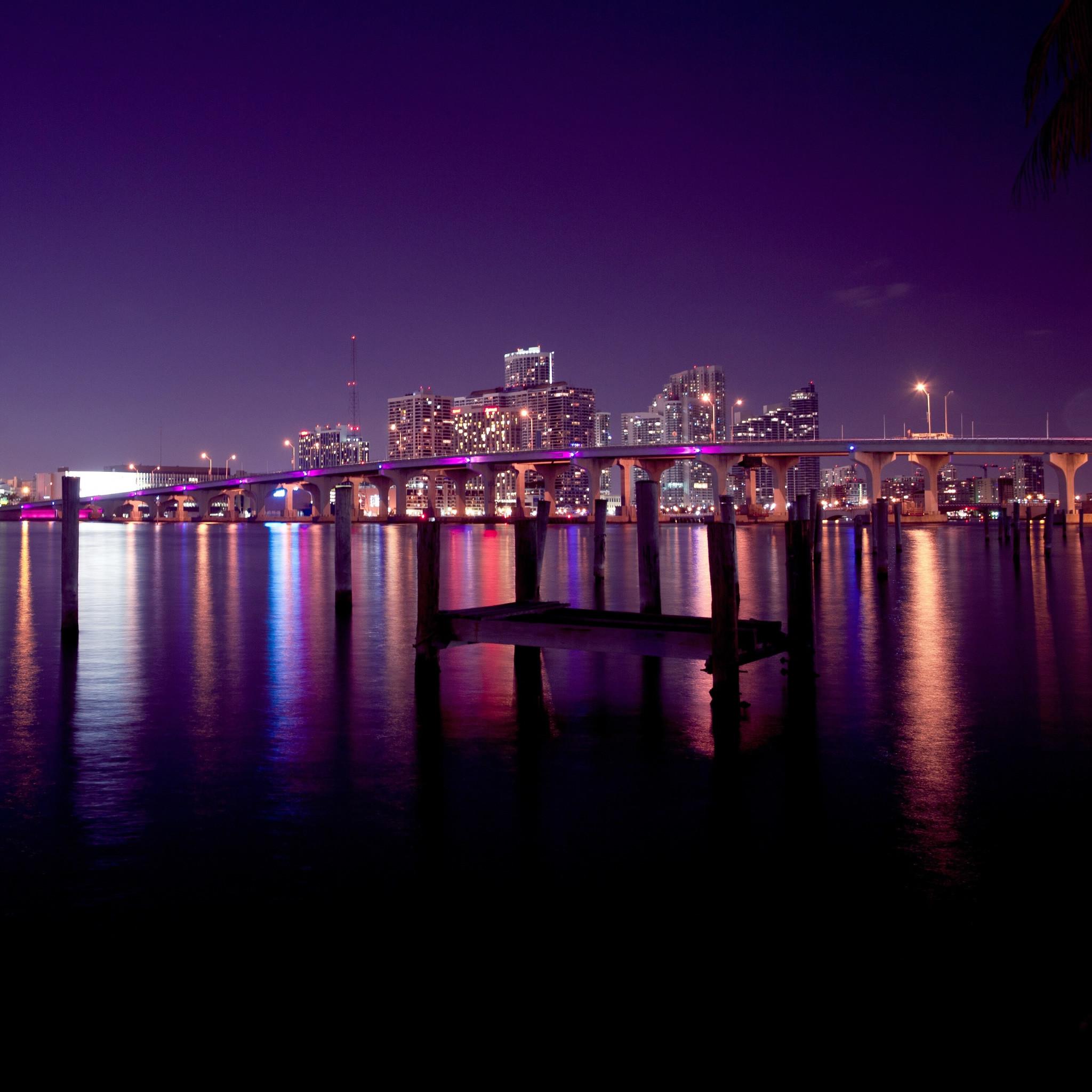 Hd Wallpapers Miami Skyline At Night 2560 X 1600 1539 Kb Jpeg | HD .