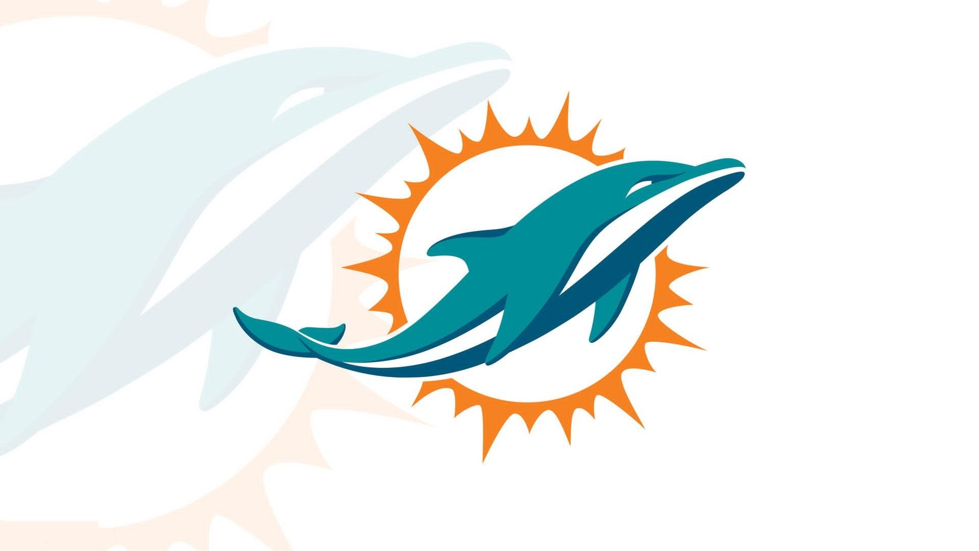 Miami Dolphins Logo Wallpaper – Wallpapercraft