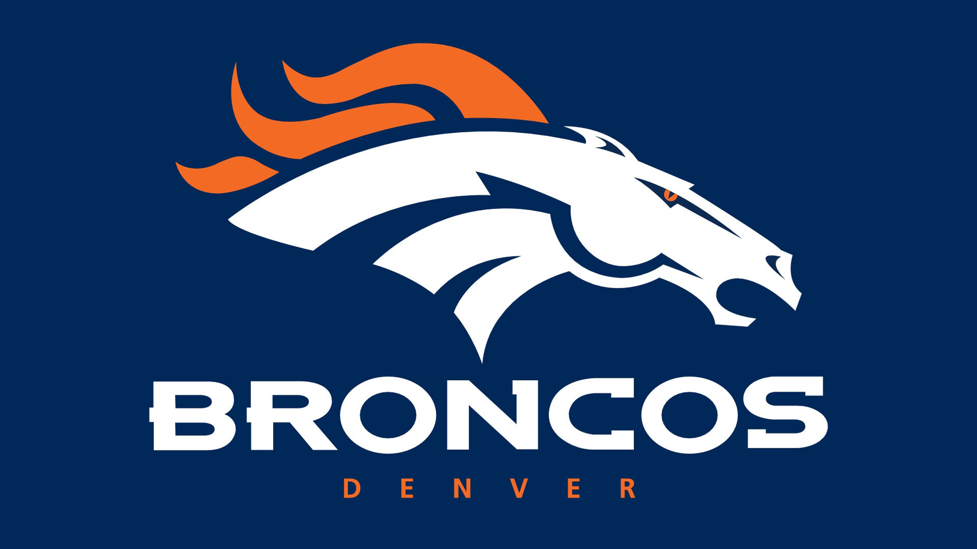 Denver Broncos Horse Logo HD Image Sports / NFL Football