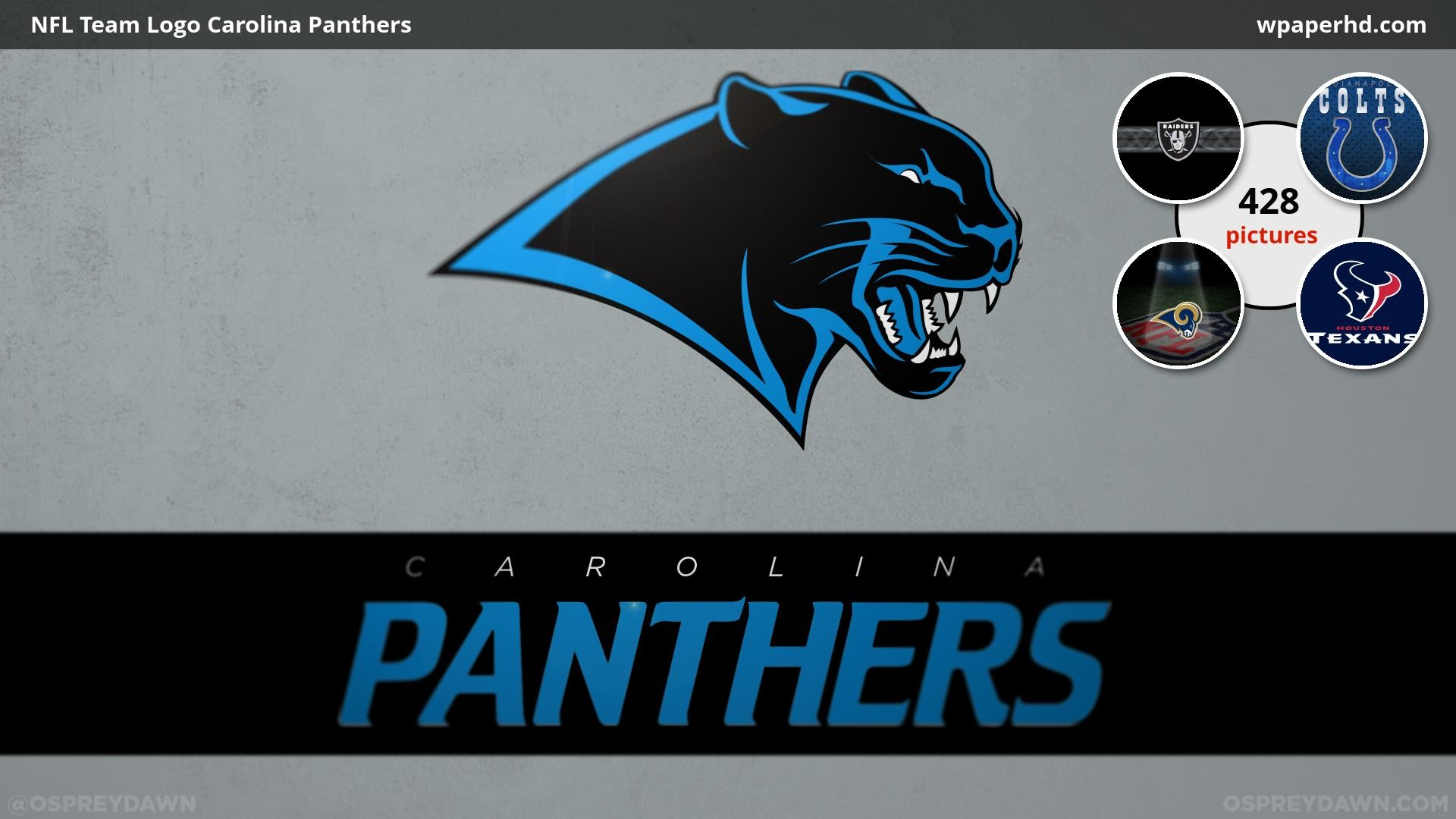 You are on page with NFL Team Logo Carolina Panthers wallpaper, where you  can download this picture in Original size and …