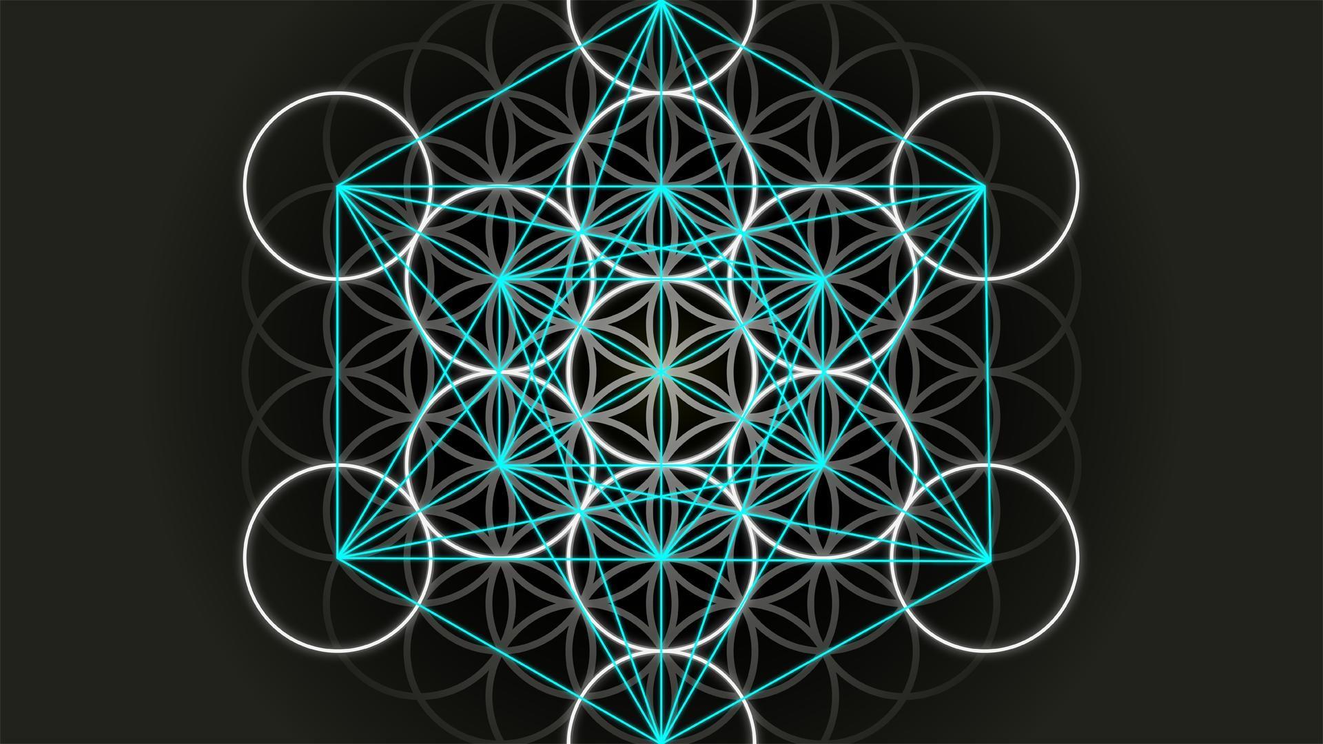 Sacred Geometry Flower Of Life Wallpaper Pretty sweet wallpaper of