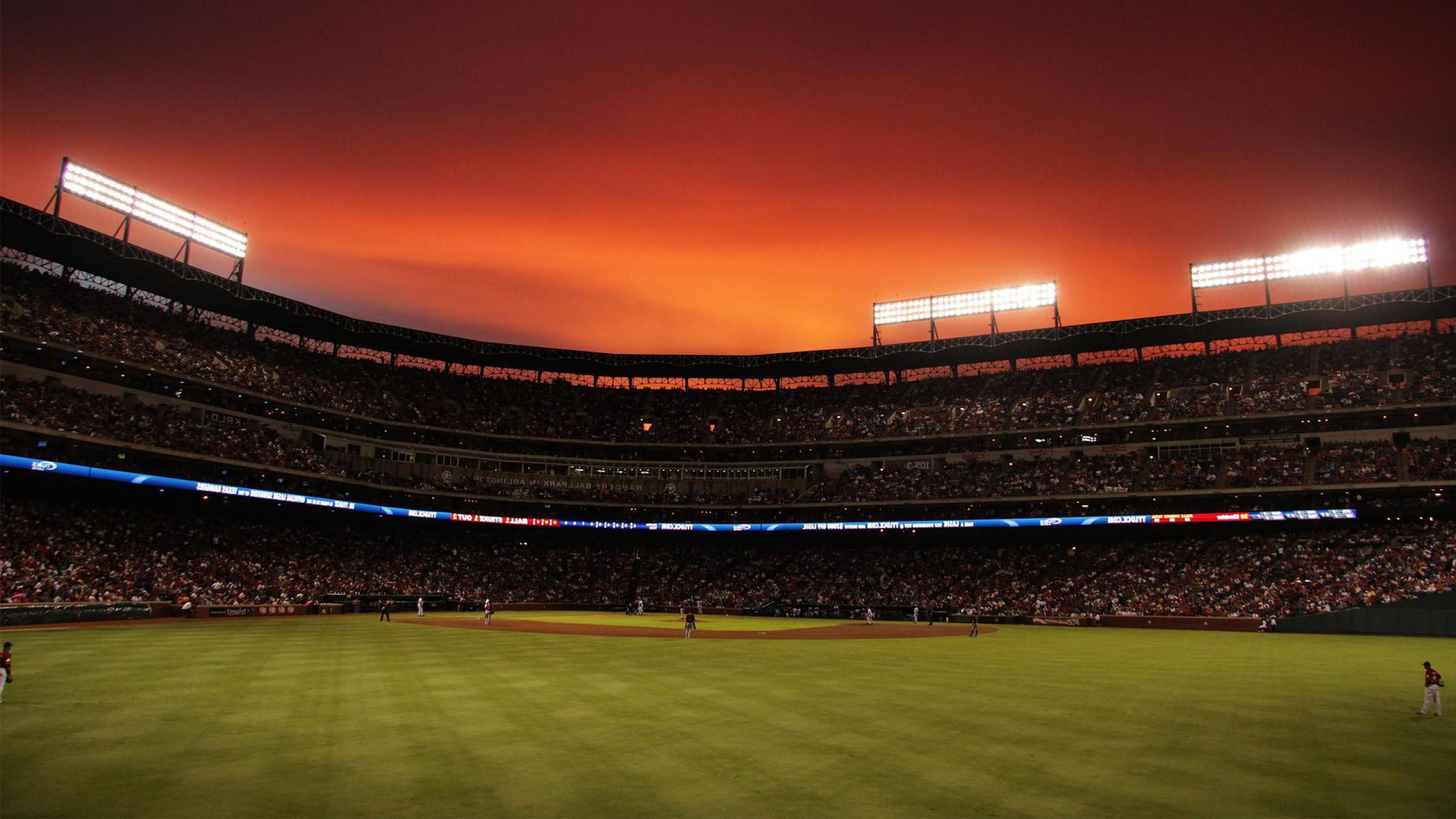 Baseball Stadium Wallpaper