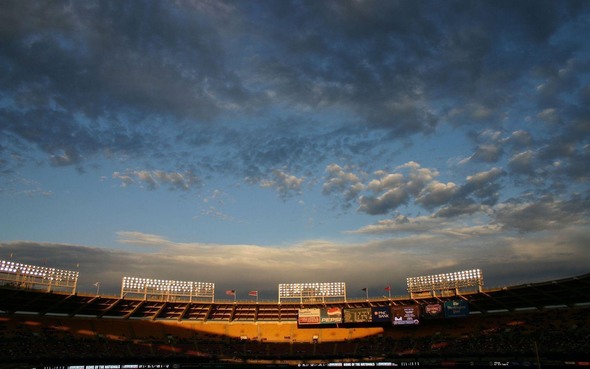 Hd Baseball Stadium Wallpaper