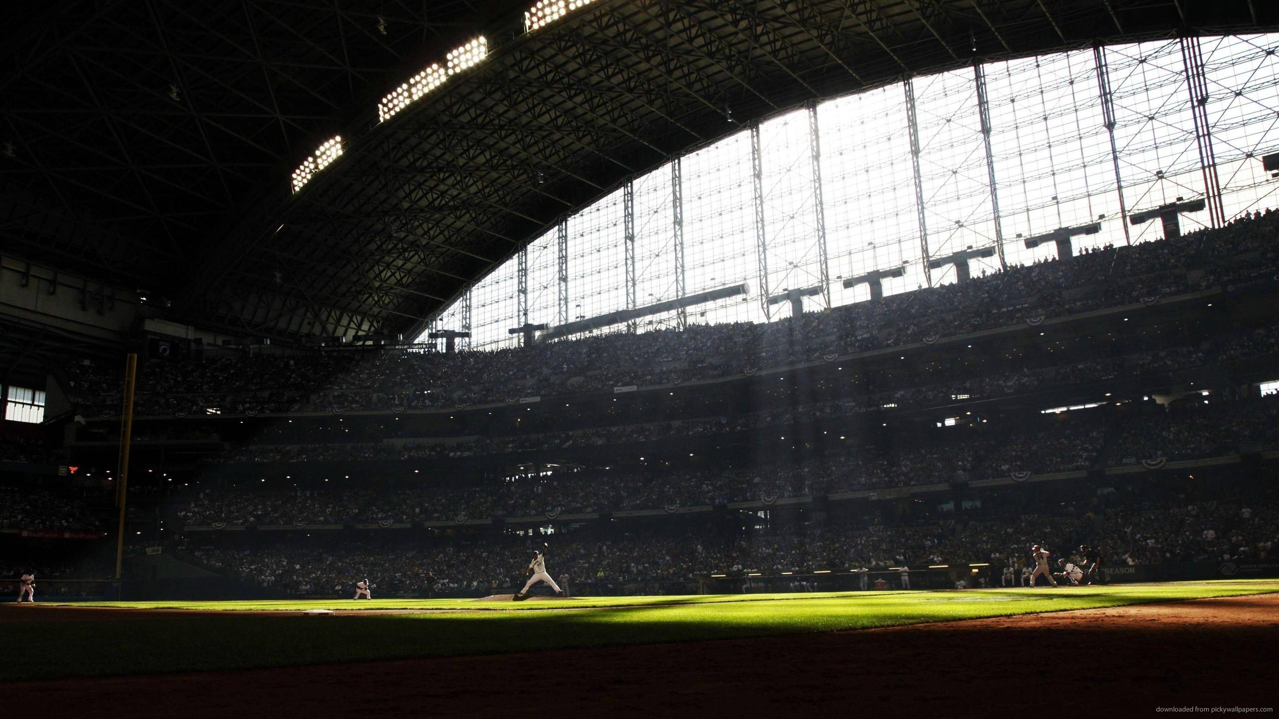 Baseball Stadium for 2560×1440