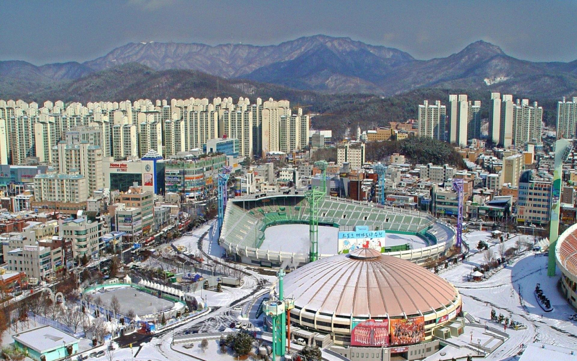 Baseball South Korea Suwon Stadium Civils …