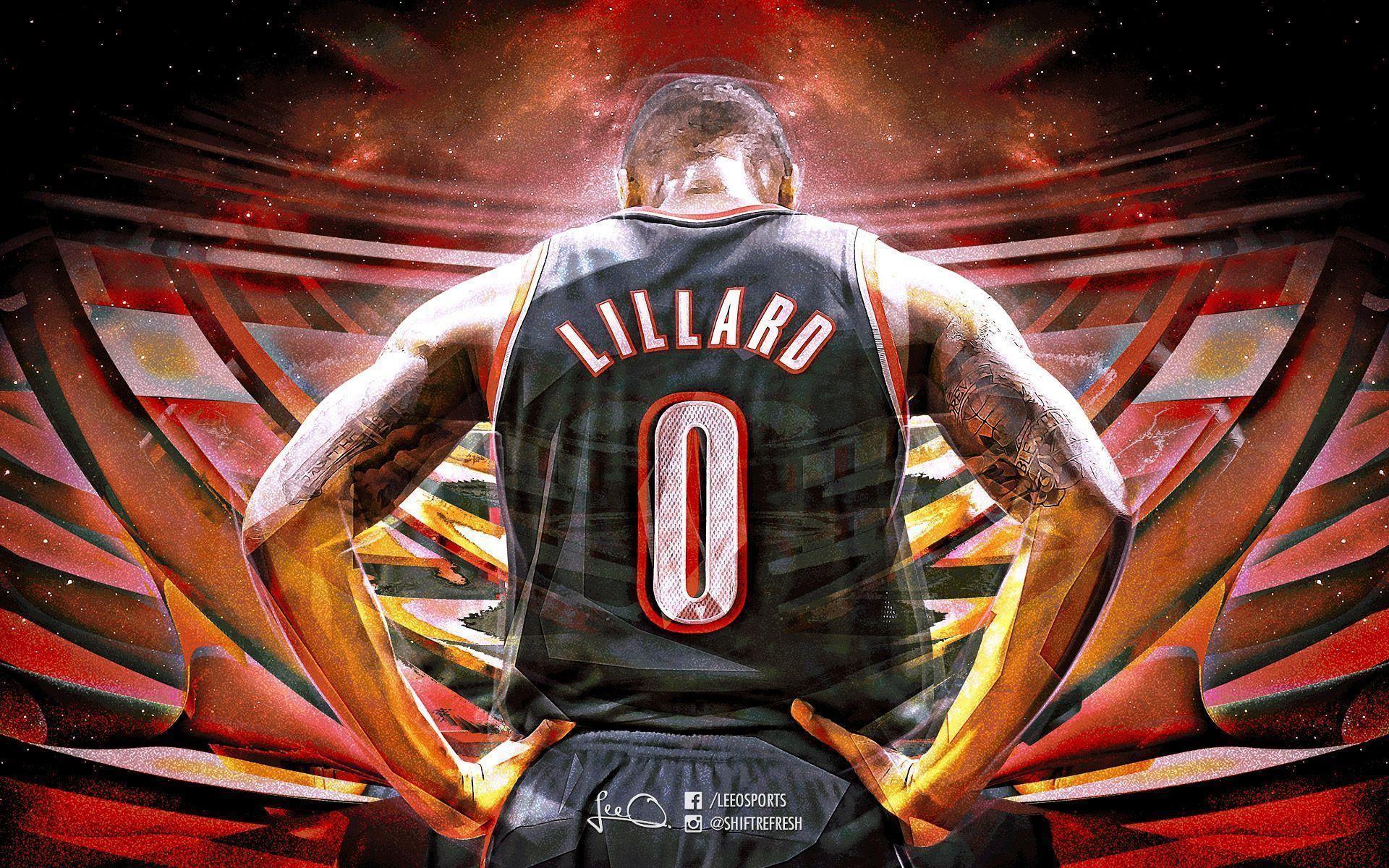 Damian Lillard Wallpapers   Basketball Wallpapers at .