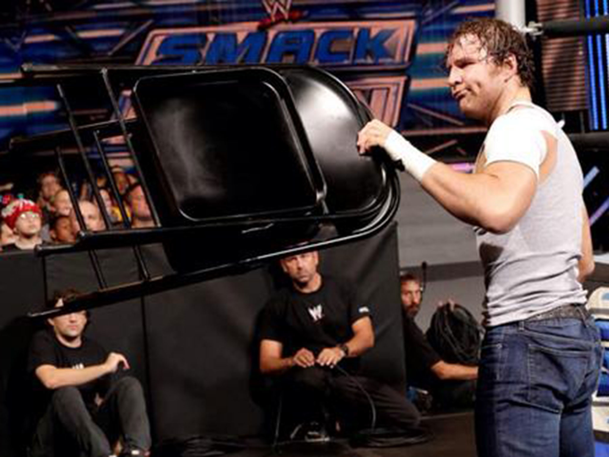 WWE Smackdown results: Dean Ambrose and Cesaro steal the show in a no  disqualification match while Roman Reigns continues his relentless rise    The …