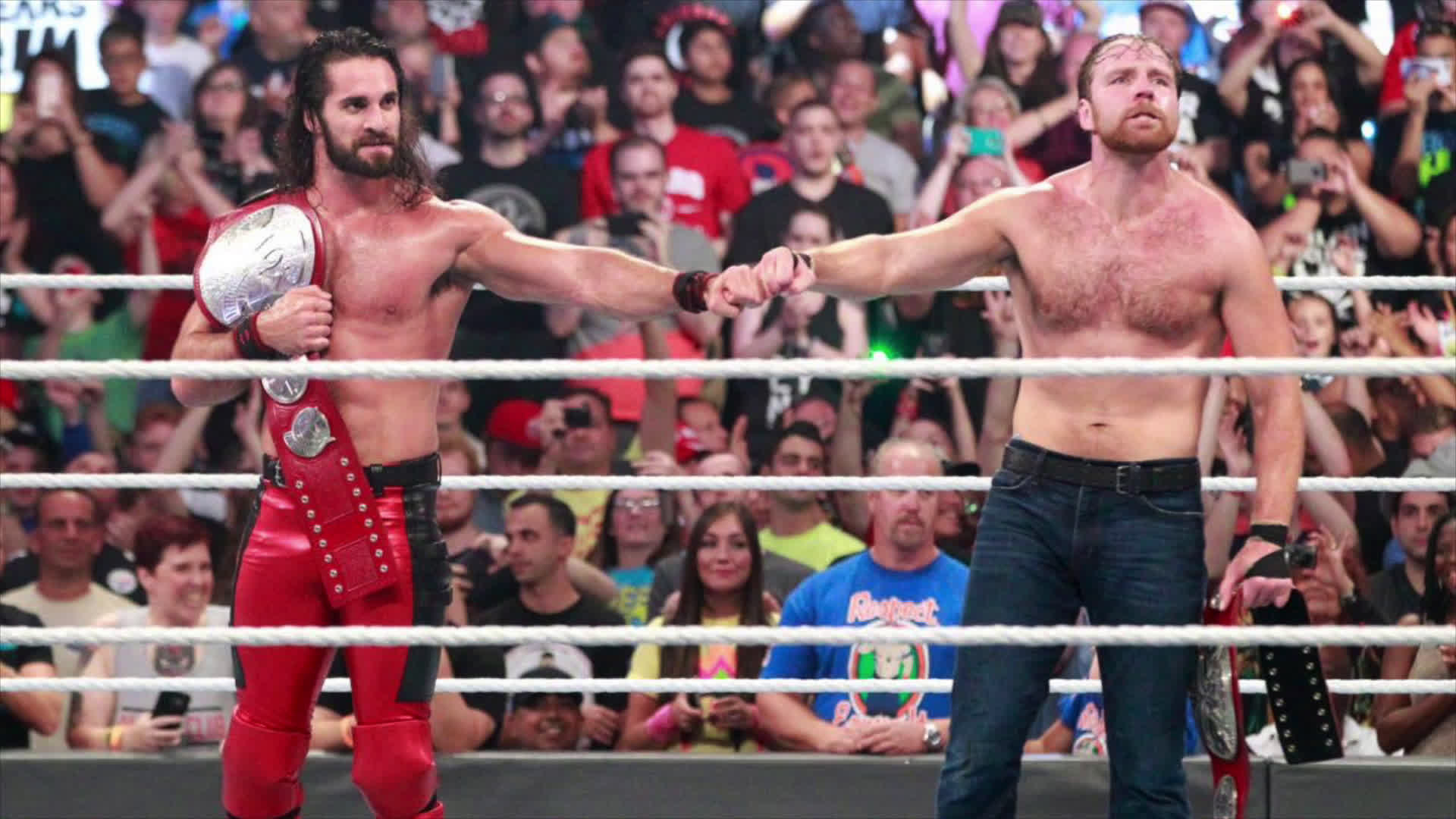 WWE Fan Fixes Seth Rollins & Dean Ambrose's Entrance Theme Now That They  Are Tag Team Champions