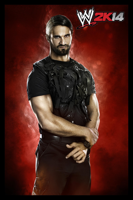 WWE2K14_Seth_Rollins_CL. WWE2K14_Sin_Cara_CL. WWE2K14_Steph_CL_090913
