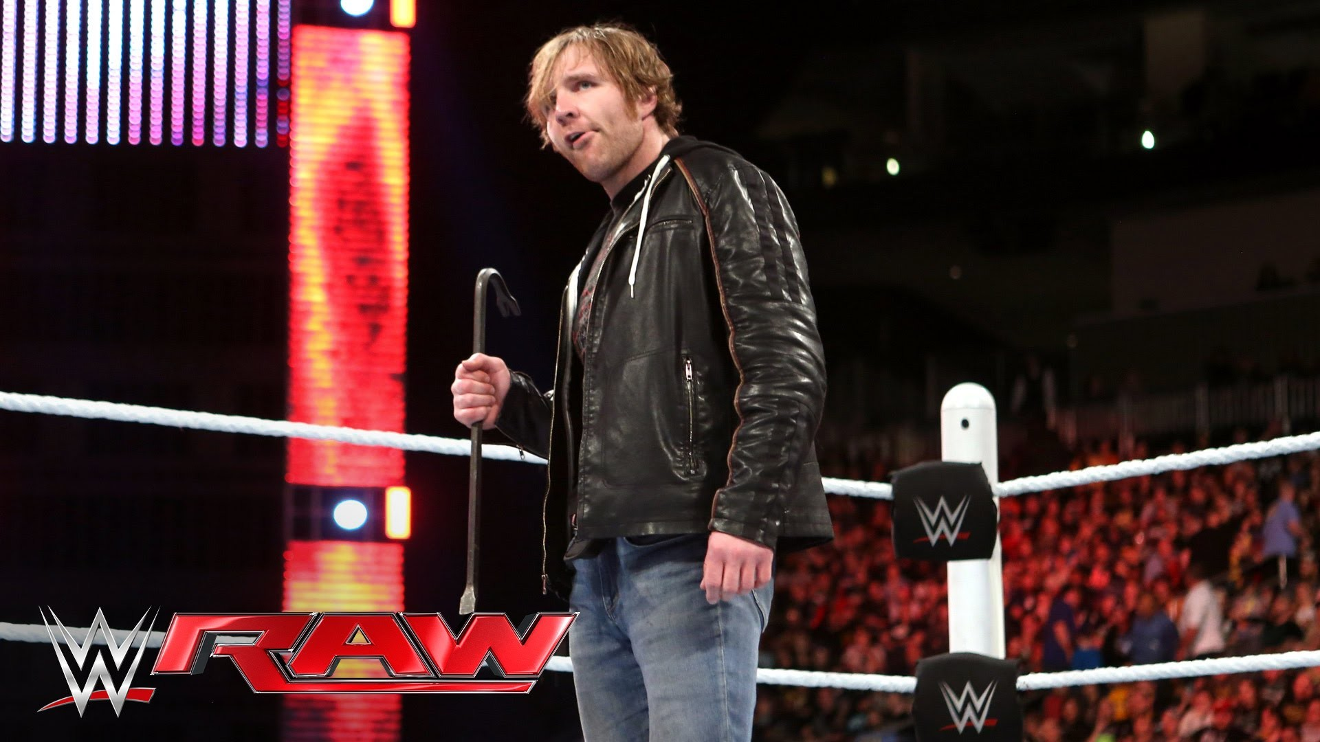 Dean Ambrose is ready to brawl with Brock Lesnar: Raw, March 14, 2016 –  YouTube