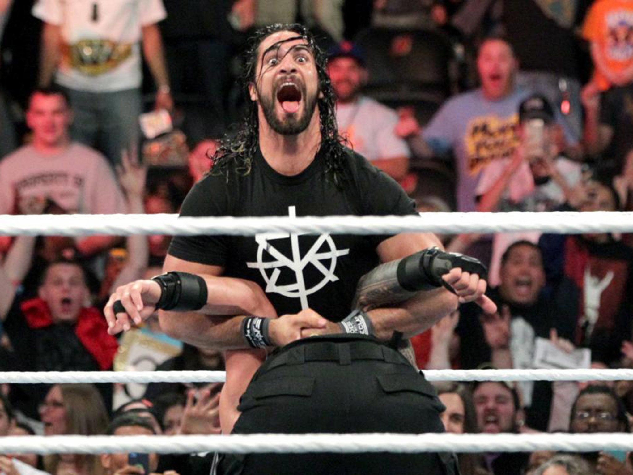 WWE Extreme Rules results 2016: Seth Rollins returns to Pedigree Roman  Reigns after he defeats AJ Styles   The Independent