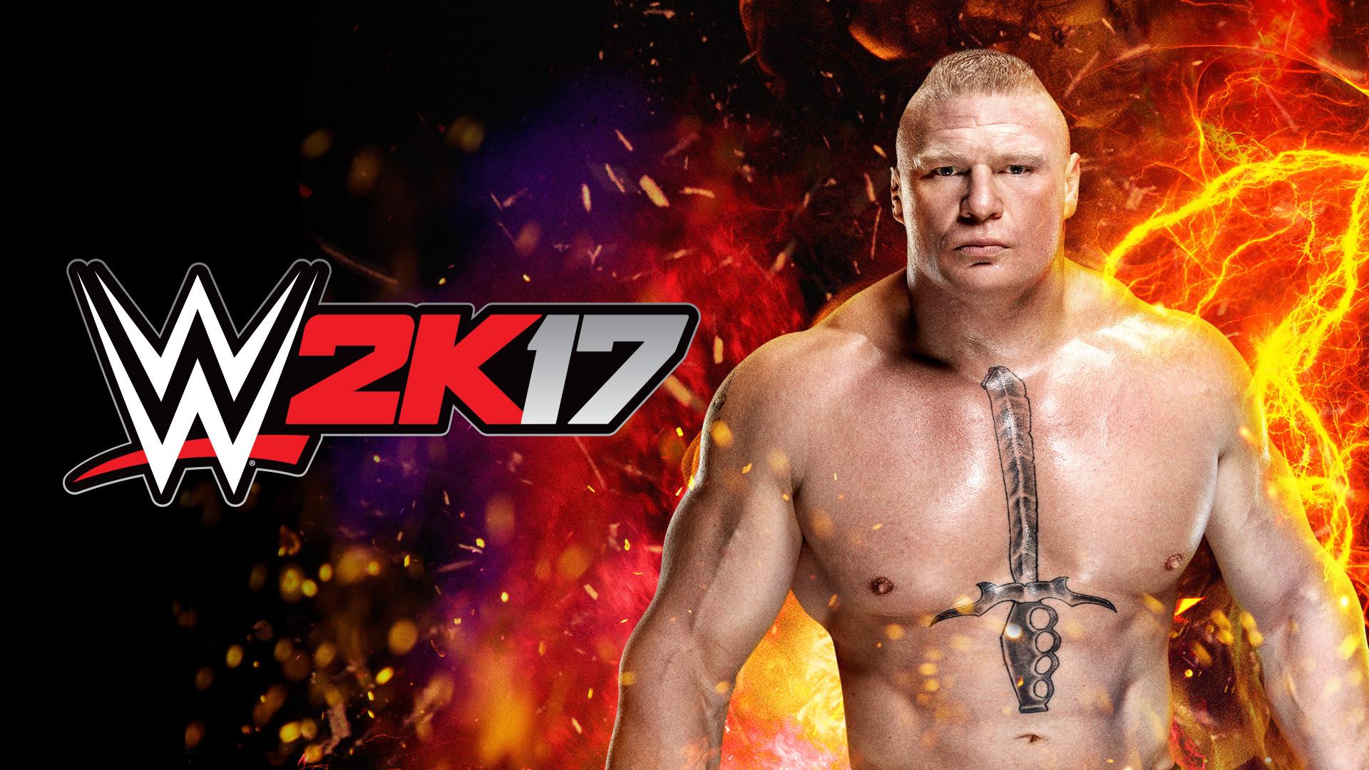 … WWE 2K17 Brock Lesnar Wallpaper (Artwork) …