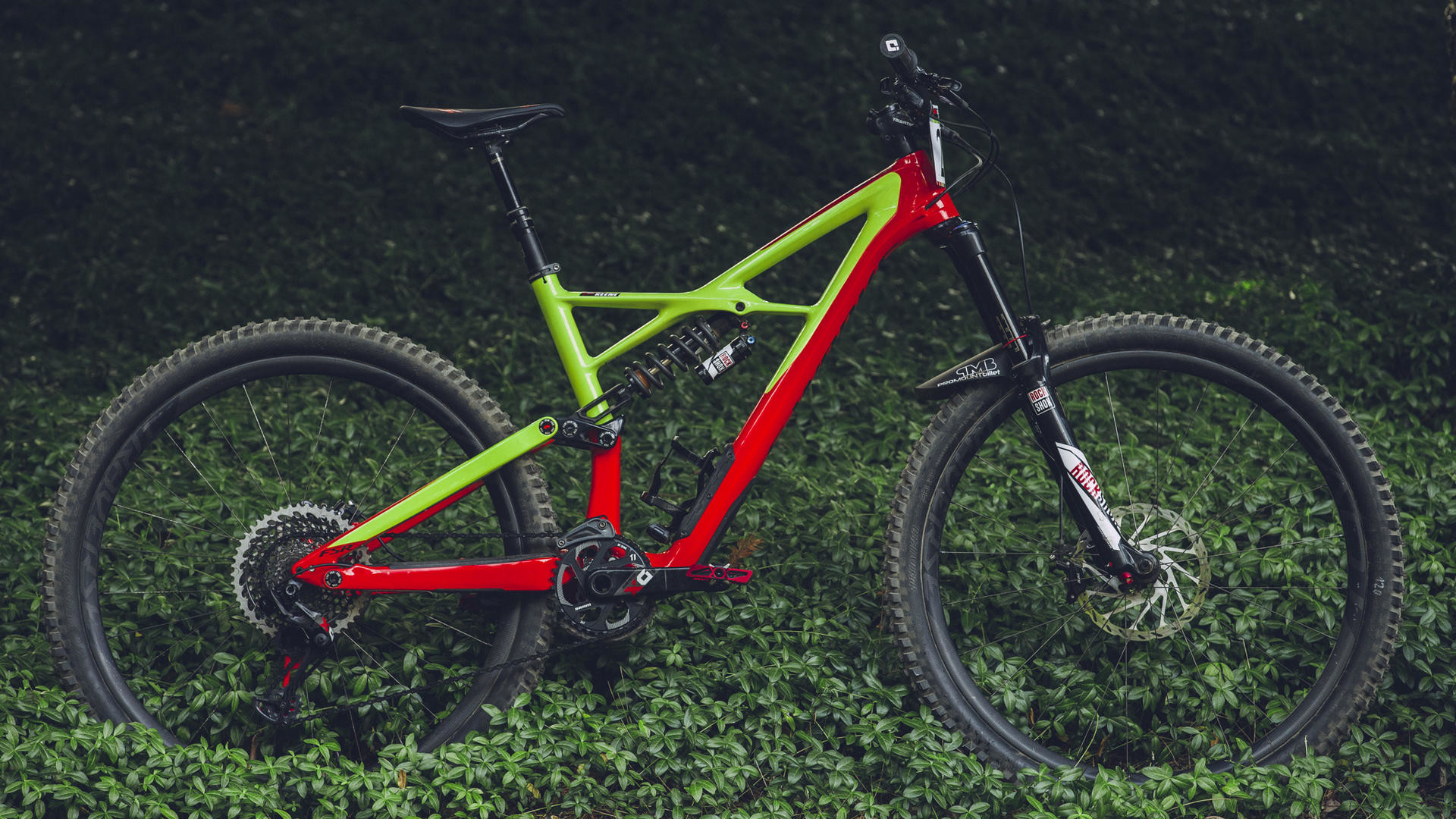 Curtis Keene's new Specialized …