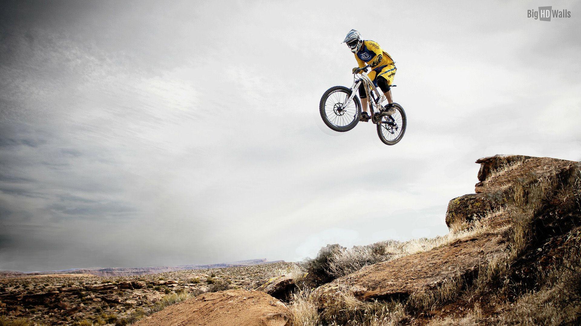 downhill mountain biking wallpaper hd
