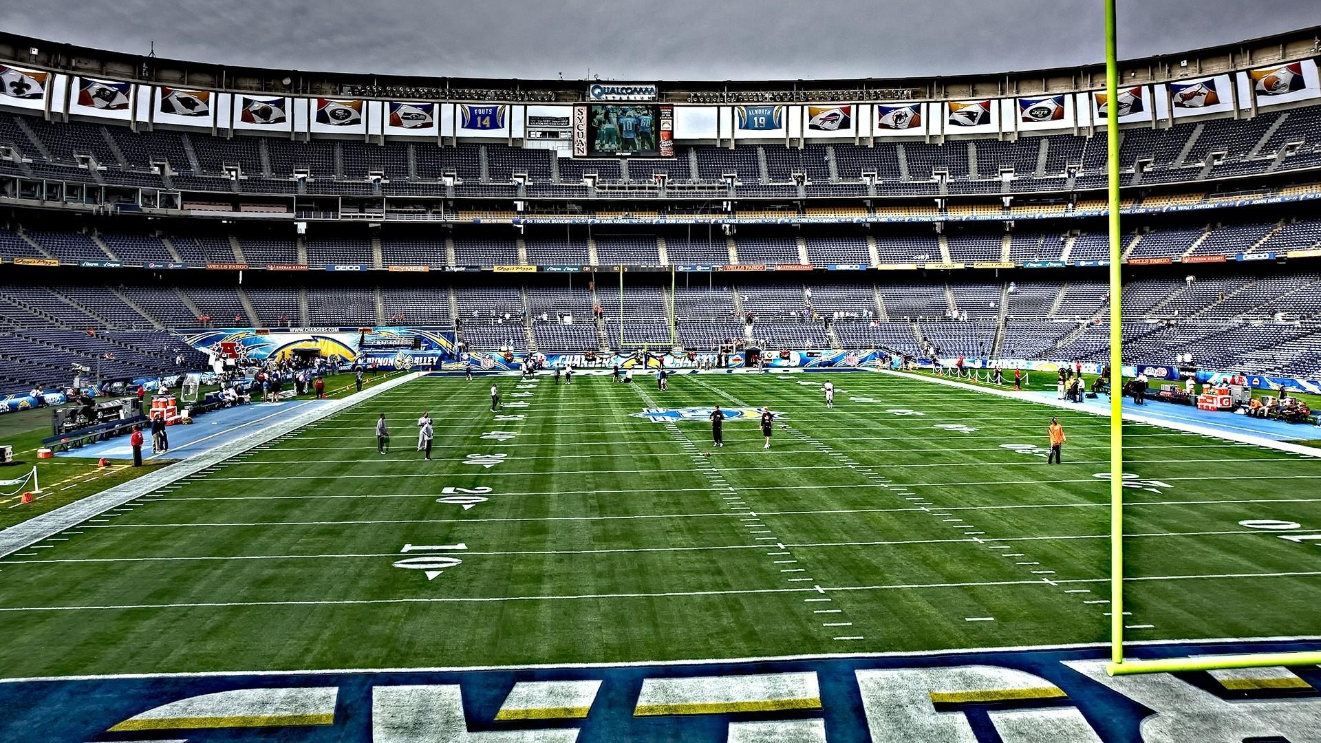 Wallpaper American football, Field, Training, Sportsmen