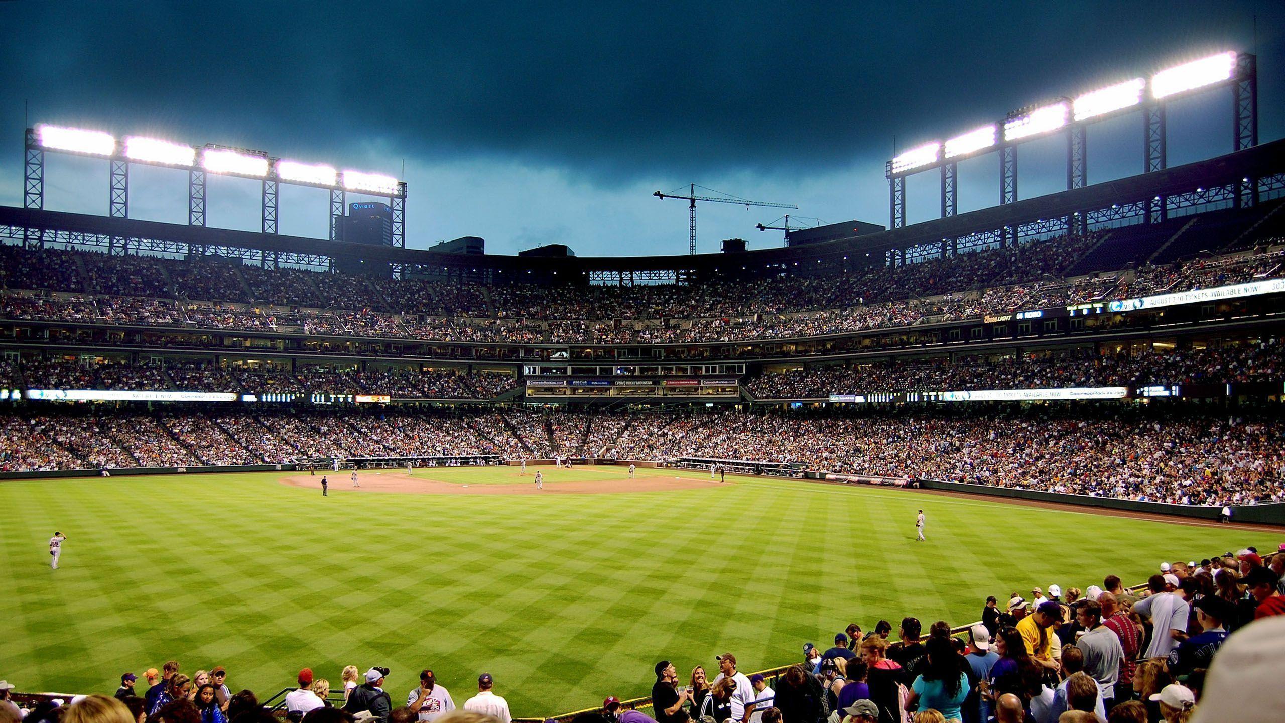 Coors Field Colorado Rockies MLB wallpaper