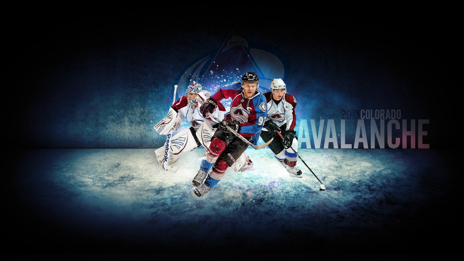 Gabriel Landeskog, Matt Duchene, Semyon Varlamov