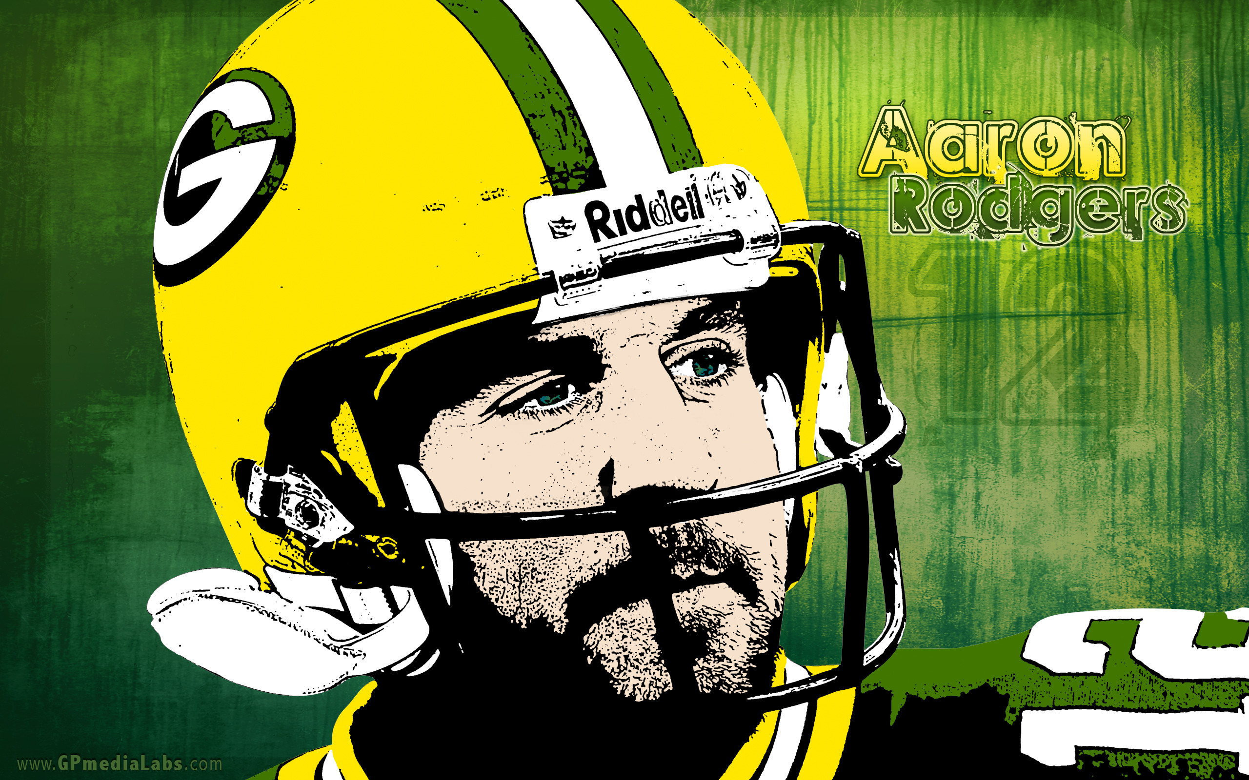 Green Bay Packers Wallpaper – Aaron Rodgers #12