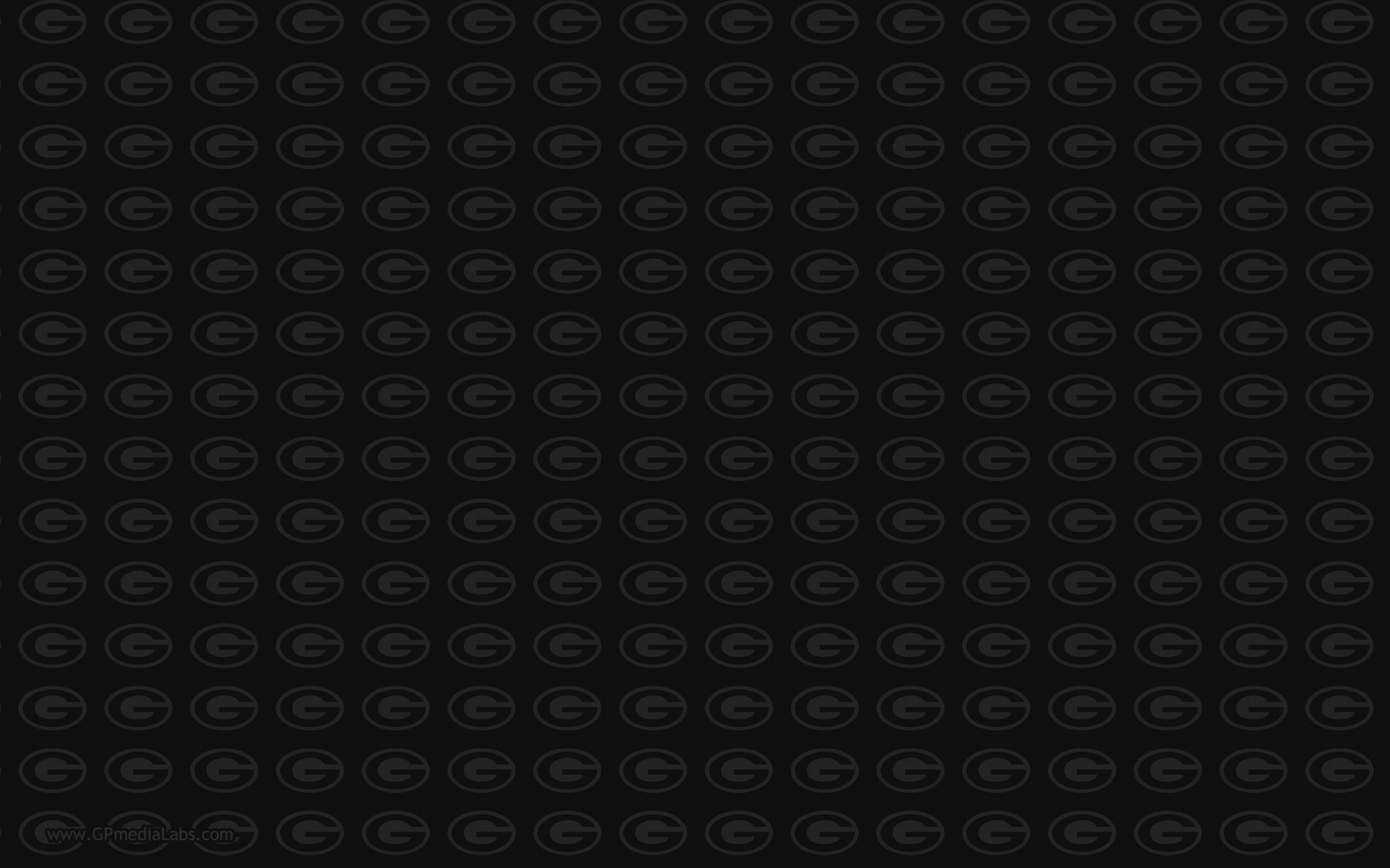 Green Bay Packers Wallpaper – Green Bay Packers Logo Pattern Wallpaper