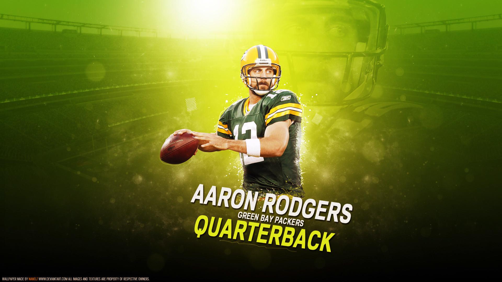 Aaron Rodgers Green Bay Packers wallpaper