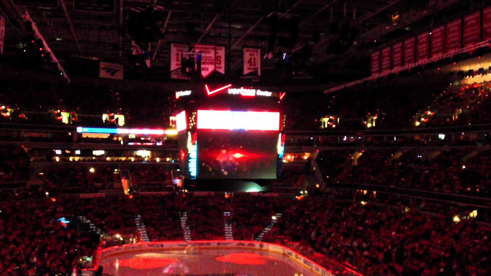 Washington Capitals inGame Playoff Intro Video 2012