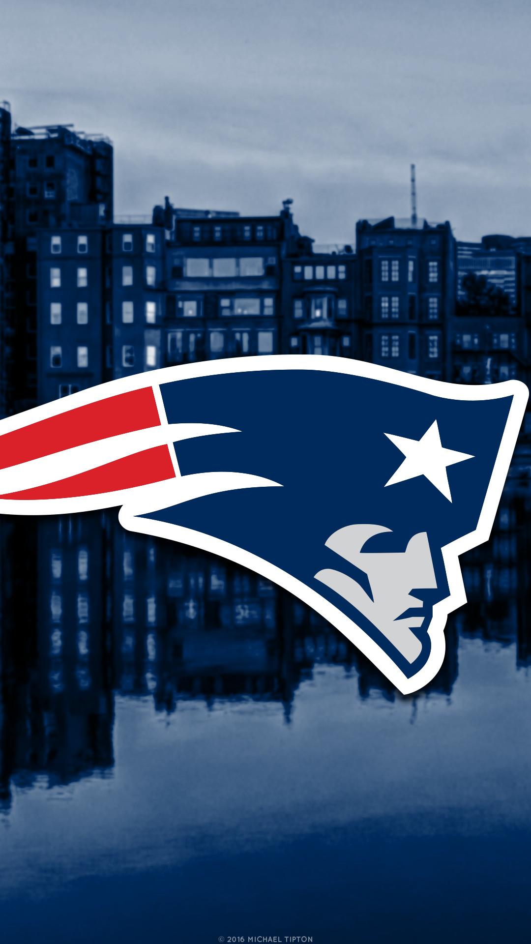 … New England Patriots city 2017 logo wallpaper free iphone 5, 6, 7,  galaxy