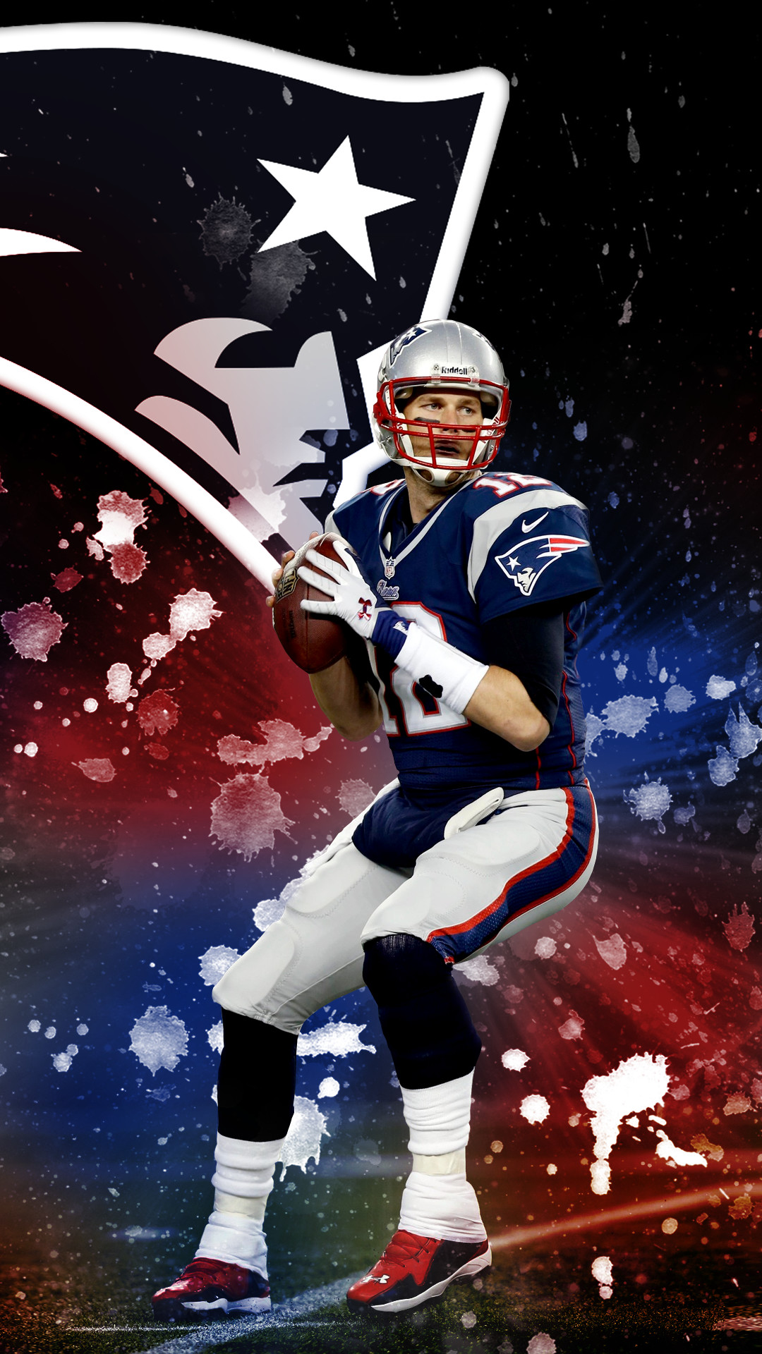 I made a Tom Brady phone wallpaper for my fellow Champions :) Hope you all  enjoy it!