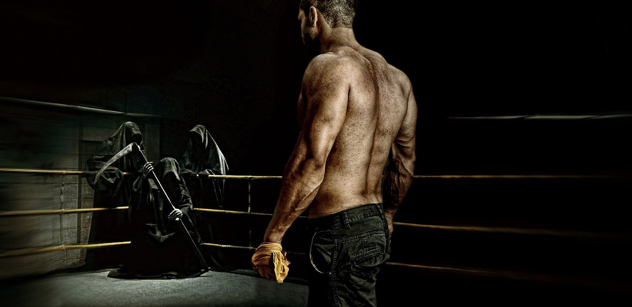 ring, war, death, man, soldier, boxing, background, wallpaper