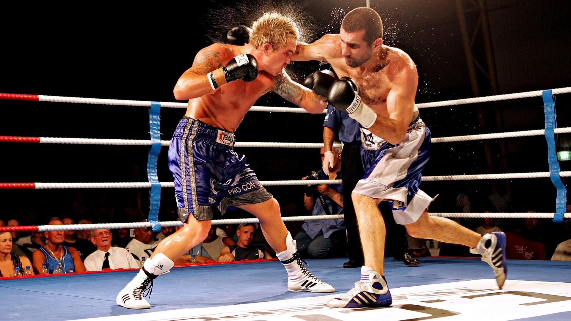 Wallpaper Boxing, Ring, Struggle, Blow