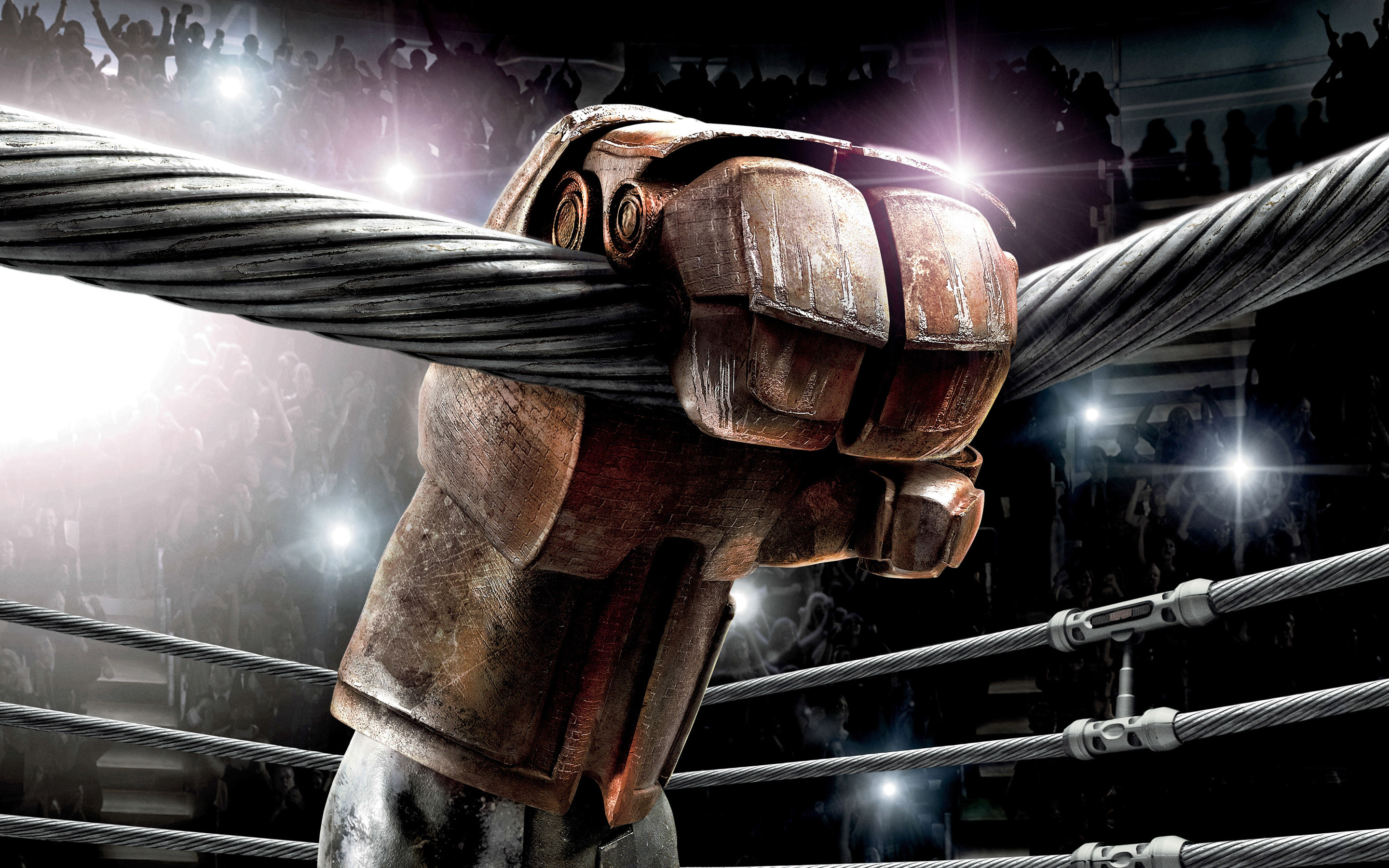 Picture Real Steel Robot Movies Boxing 2880×1800