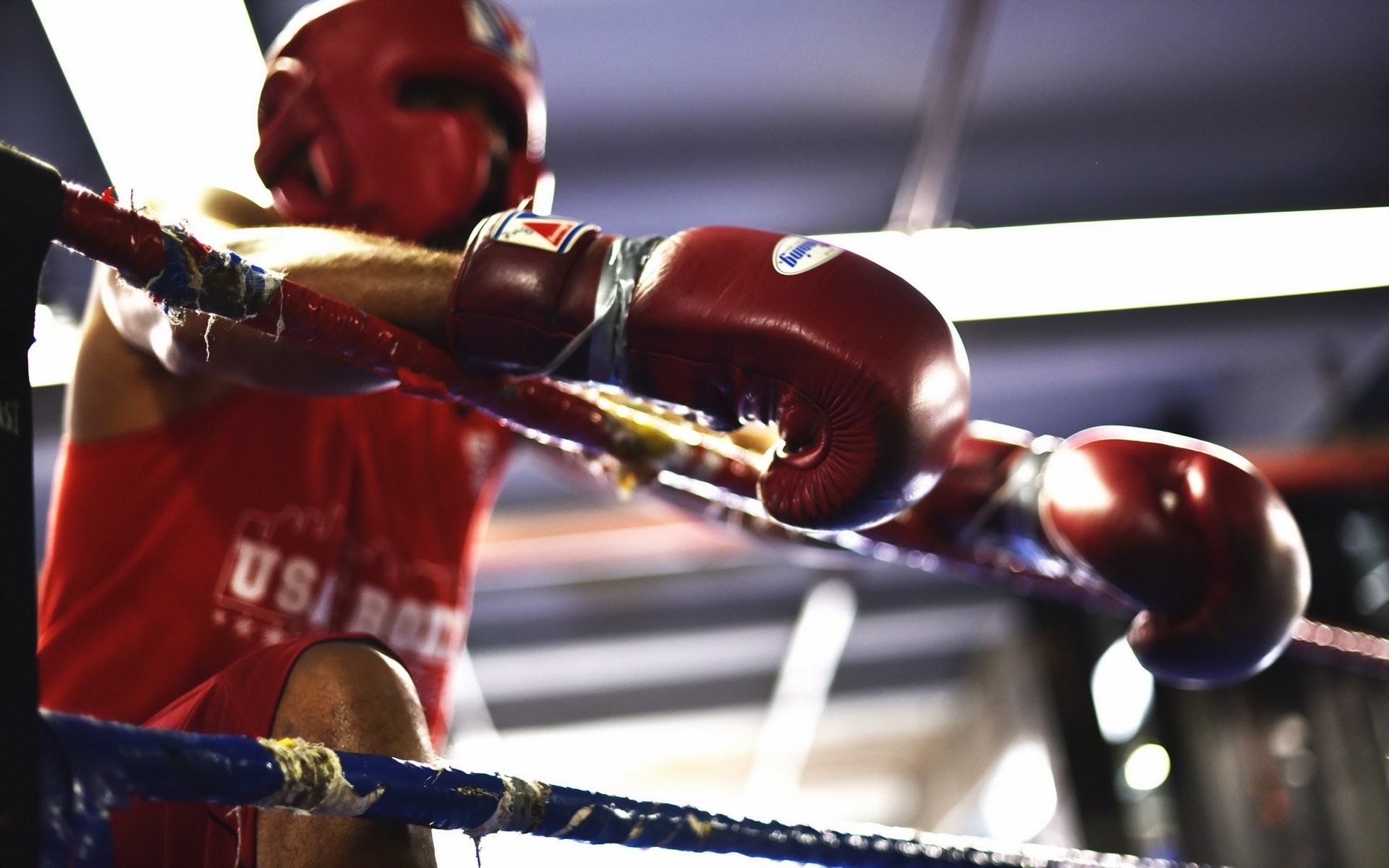 boxing ring sports