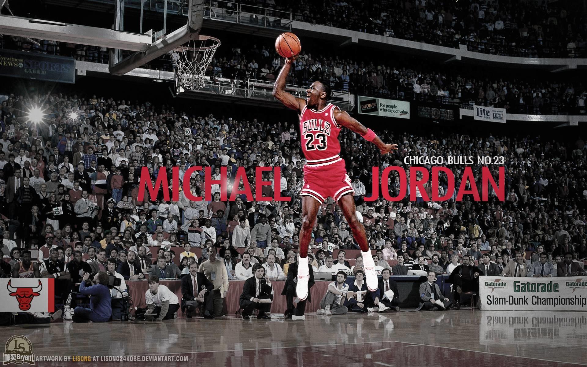 Michael Jordan Dunks From The Free Throw Line – 1580654