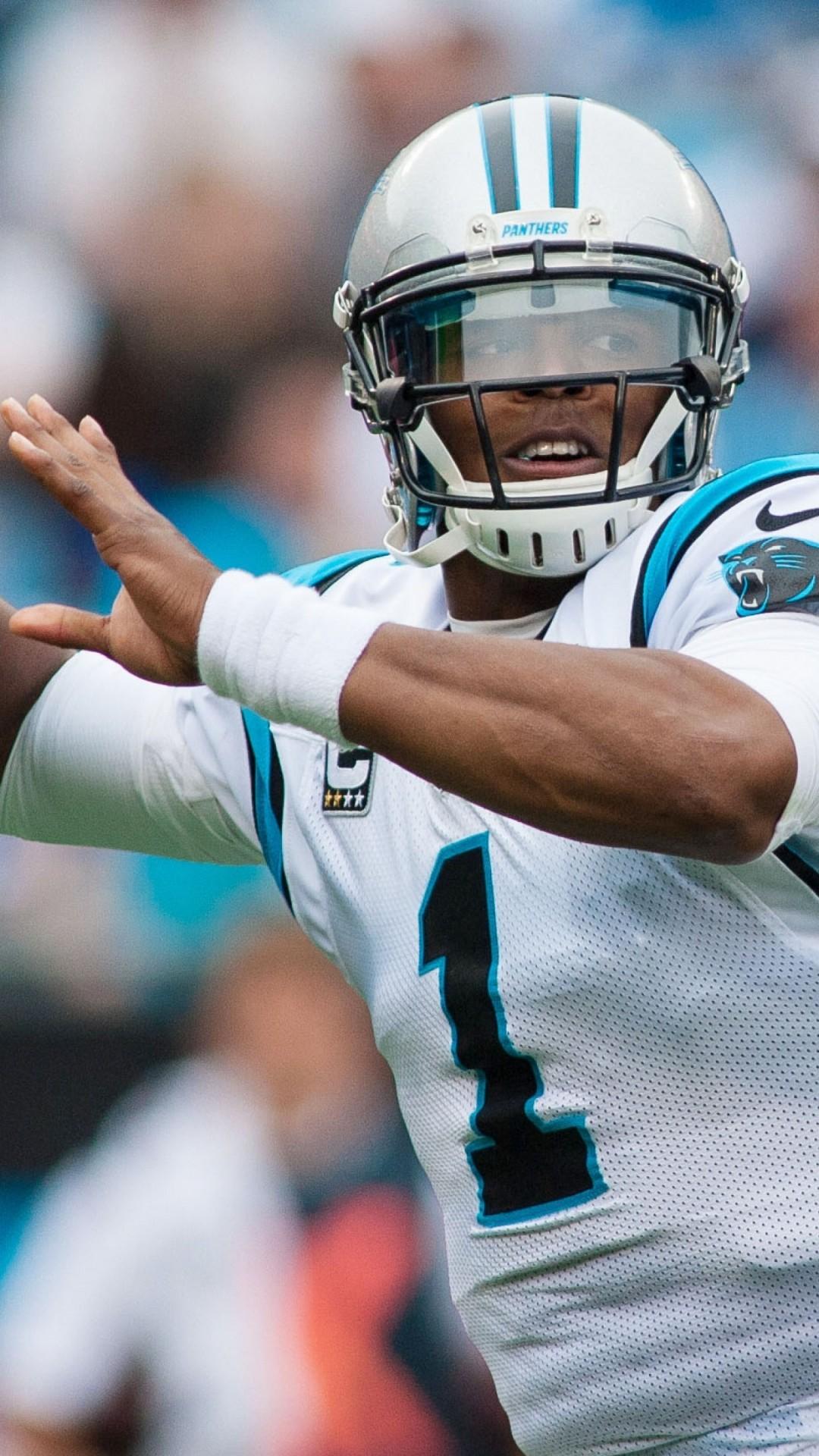 Cam Newton, Carolina Panthers, American Football