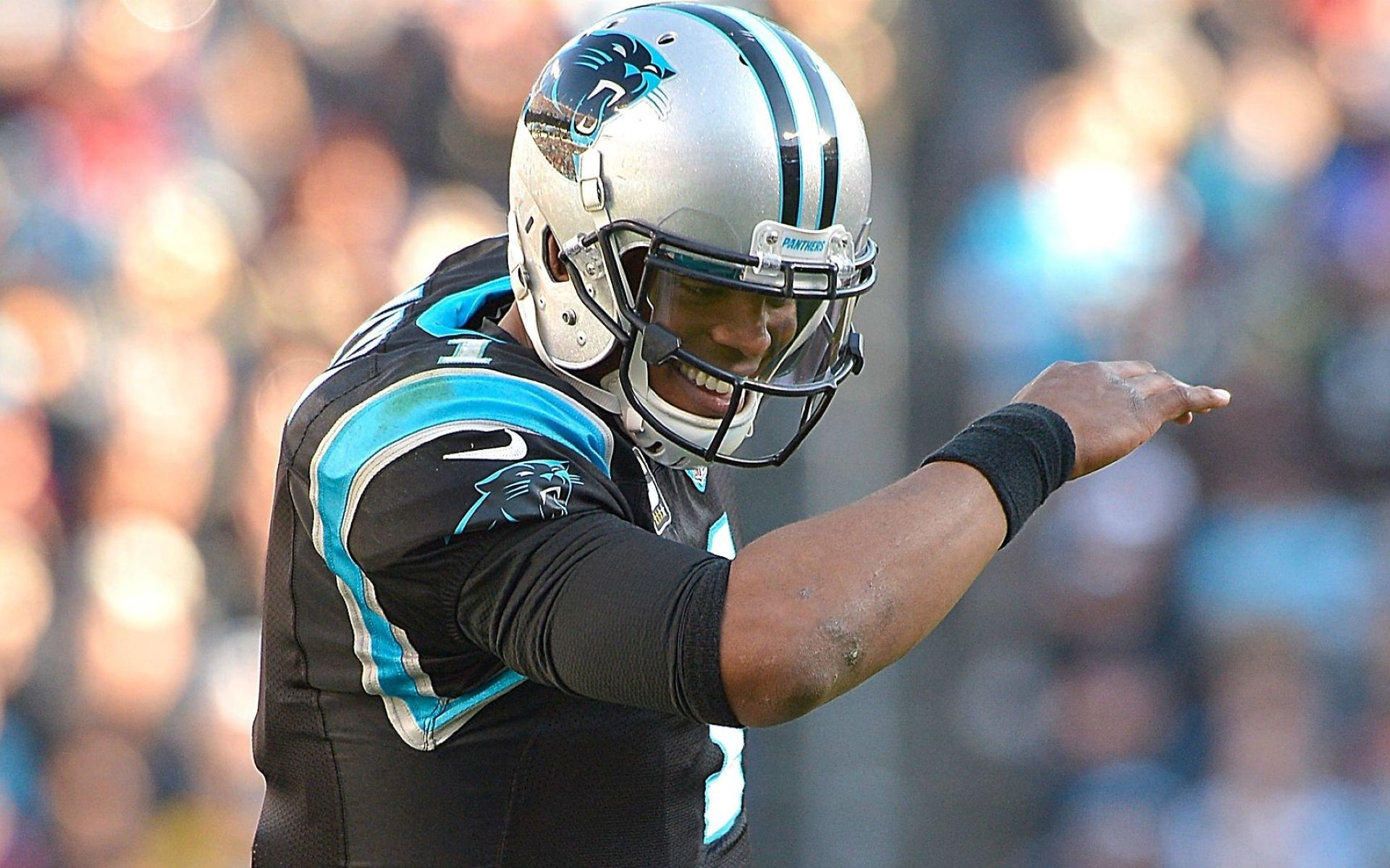 Cam Newton Full HD Background