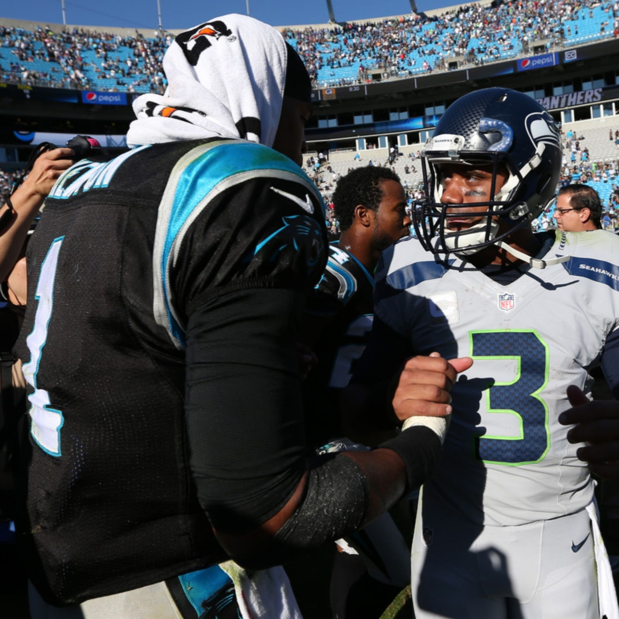 Related to Cam Newton and 4K Russell Wilson Wallpaper