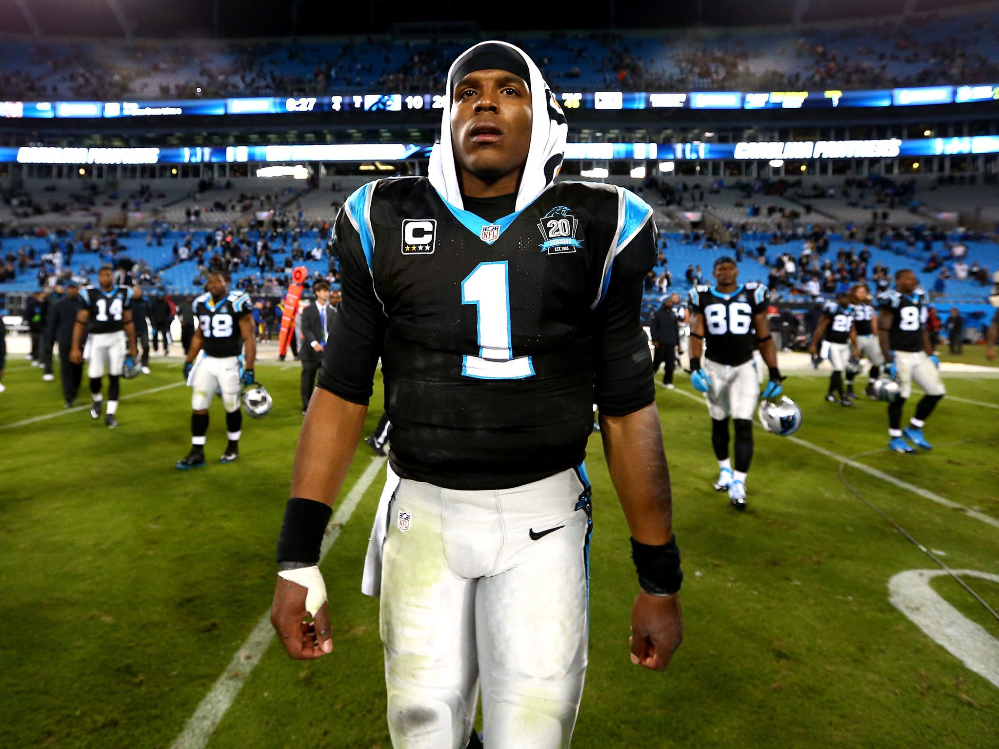 Cam Newton car crash: Carolina Panthers quarterback injured after accident  | The Independent