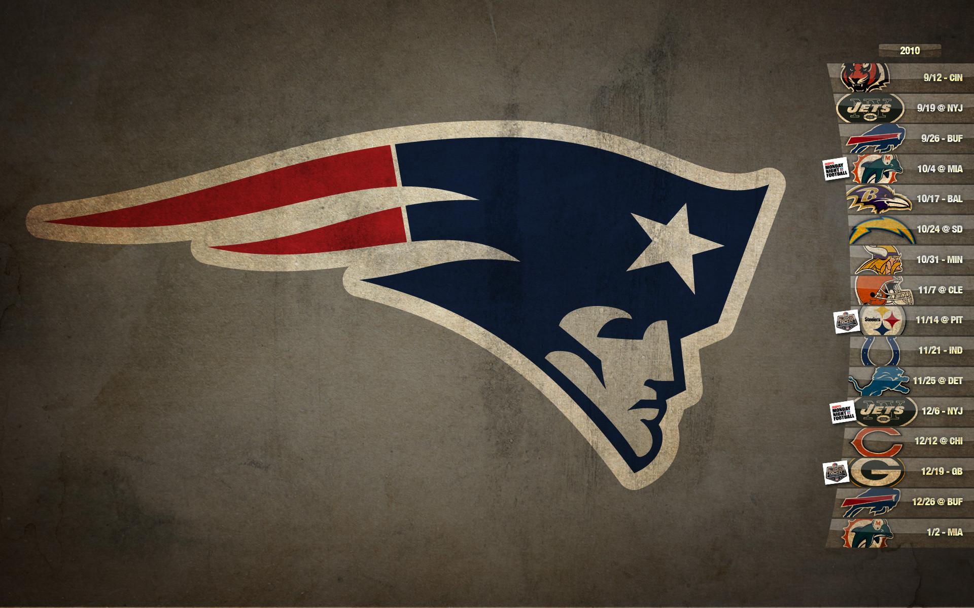 New England Patriots Schedule HD Desktop Wallpaper   HD Desktop